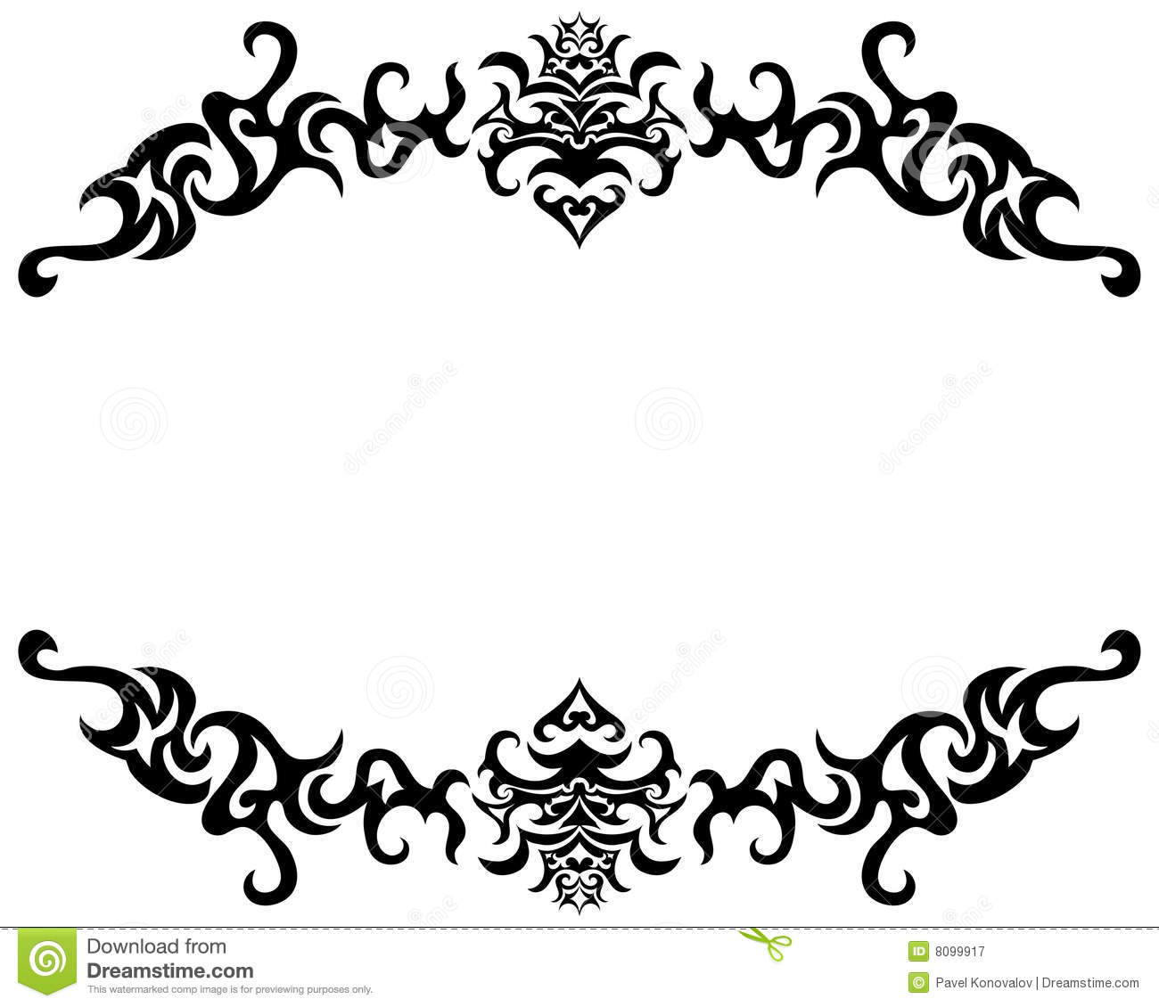 gothic frame royalty free stock photography