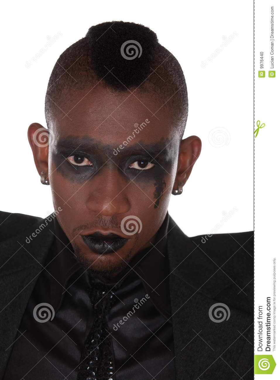 Gothic Look African Stock Photo Image Of Beautiful Looking