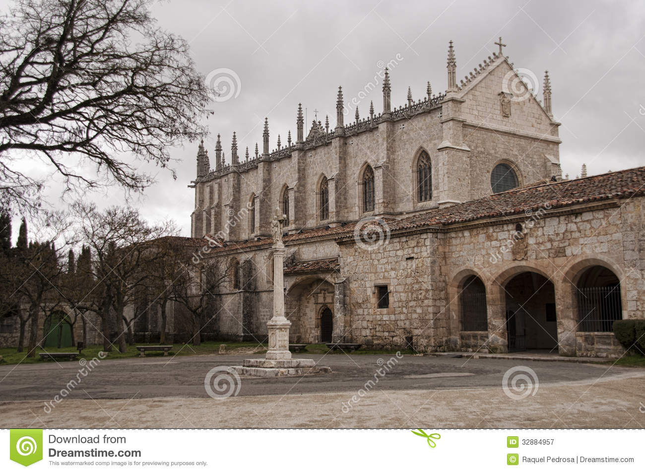 Gothic Monastery Royalty Free Stock Photography - Image ...