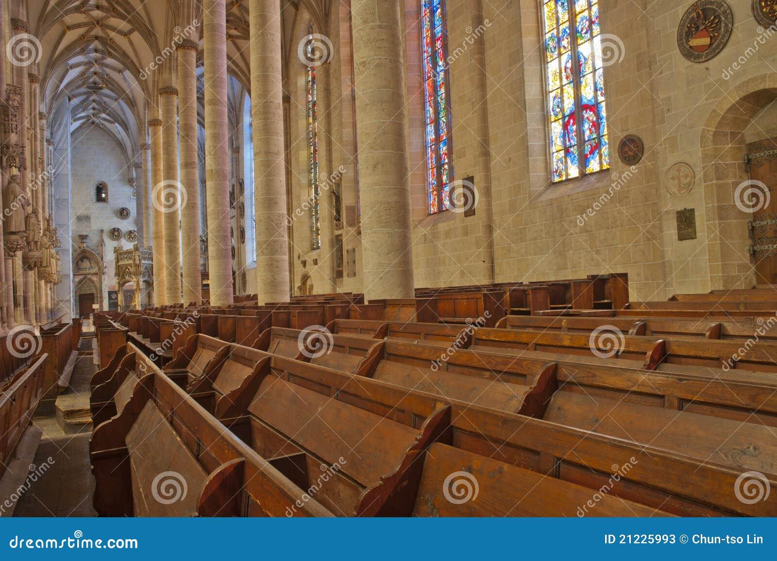 Gotische Architektur Im Ulm Münster Stockfotos - Bild