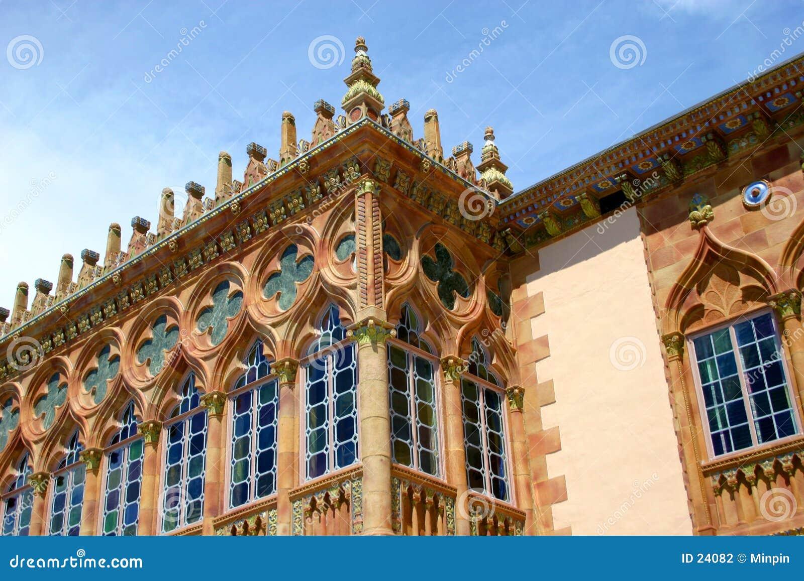 Gotiska venetian fönster