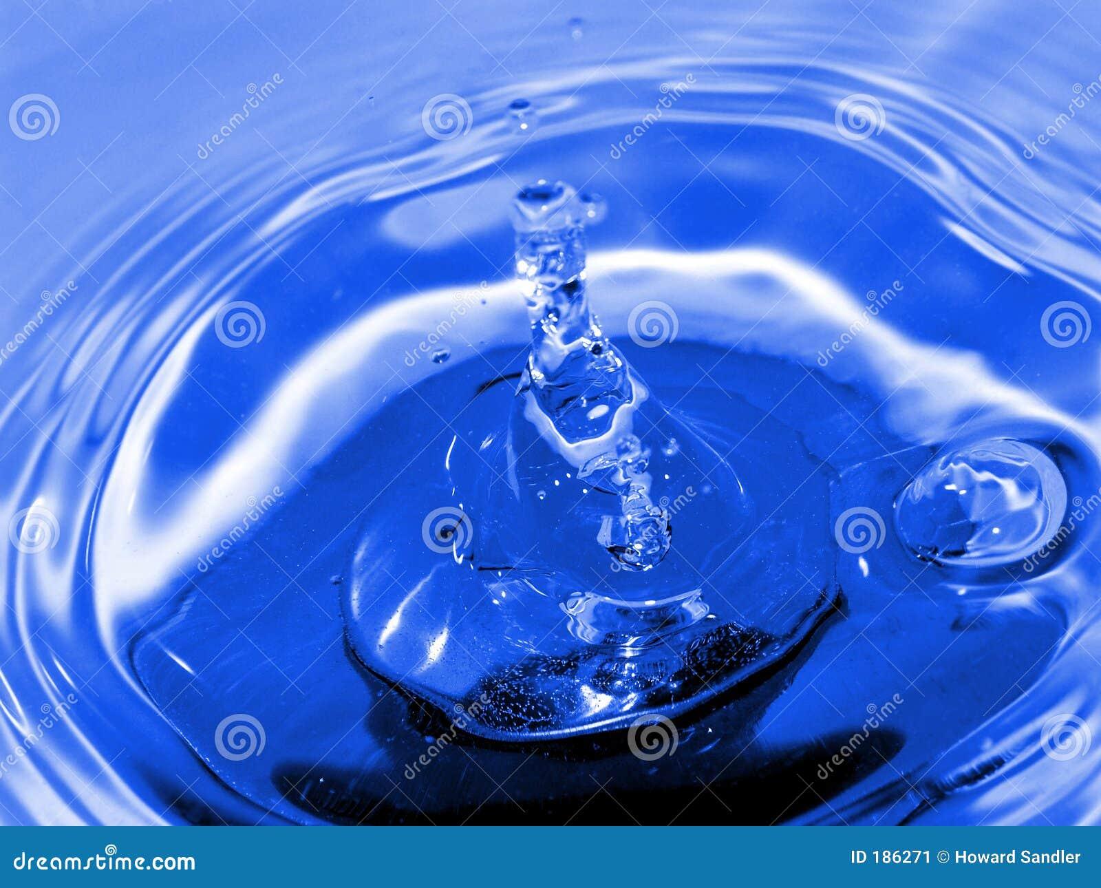 Gotita azul