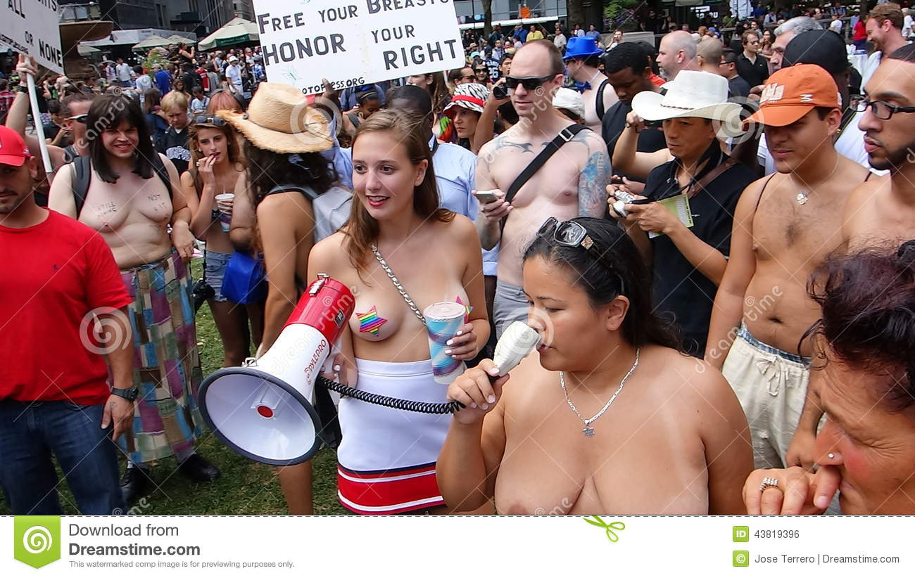 That Go topless day 2014