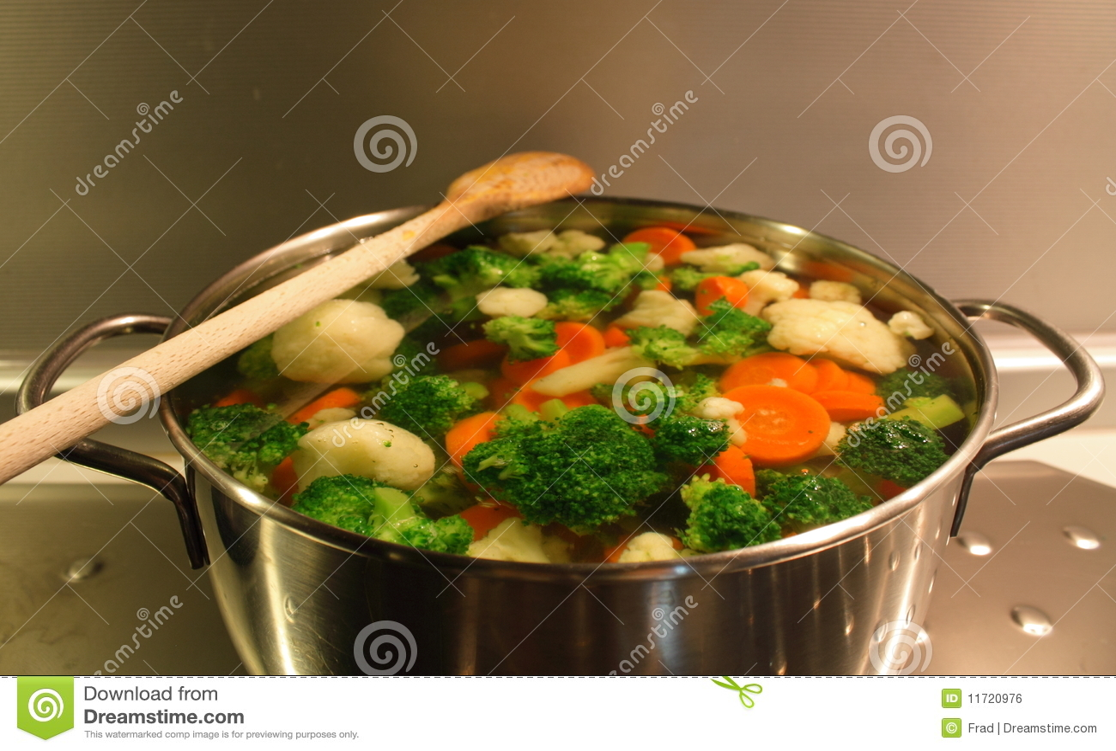 Gotowani warzywa