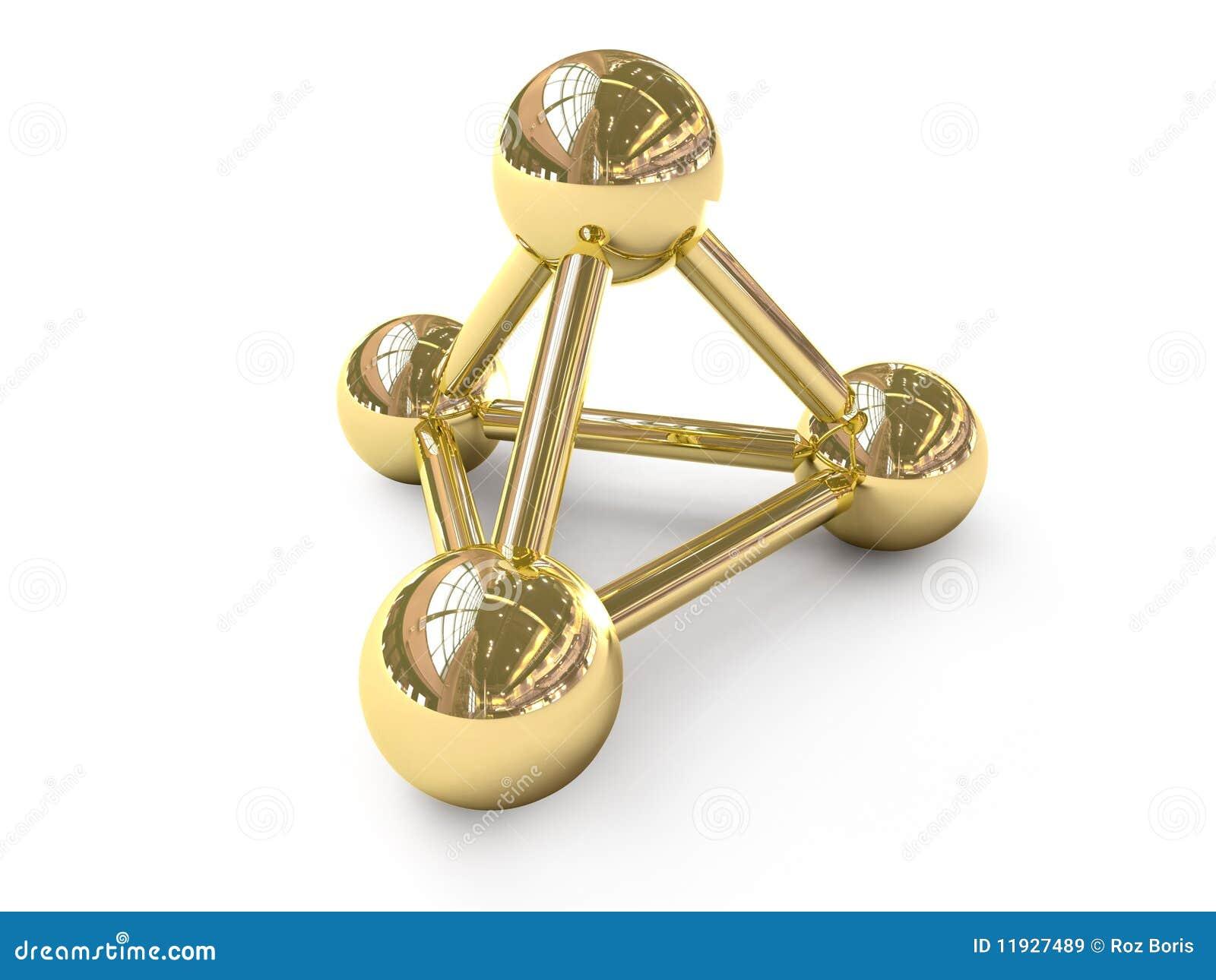 Gouden aansluting symbool