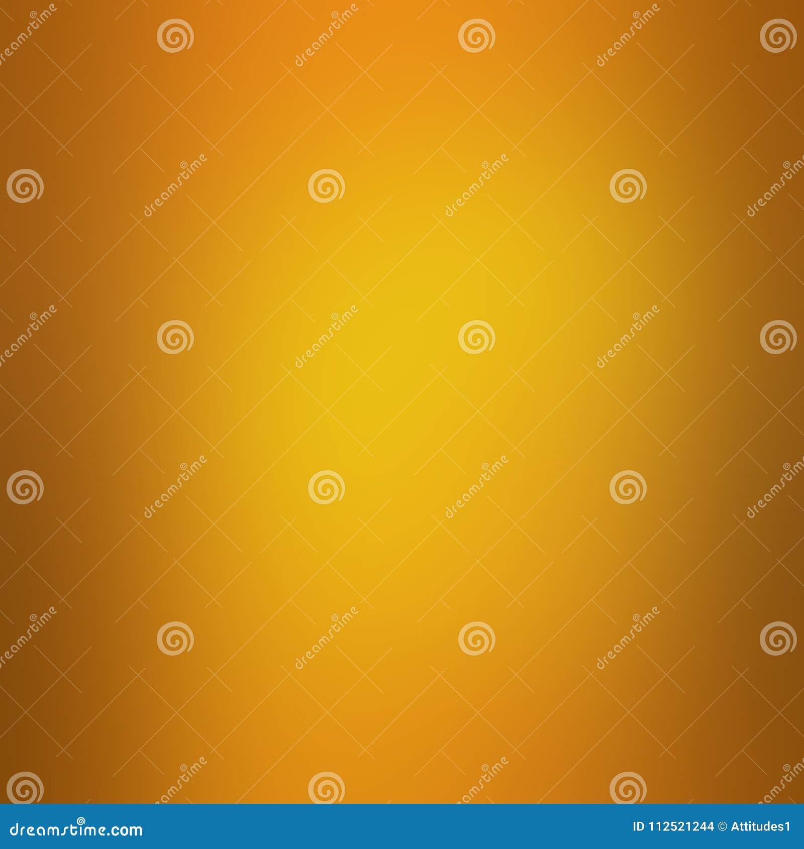 Gouden achtergrond met oranje grens en zacht mooi onduidelijk beeldontwerp, gouden grafische kunstlay-out