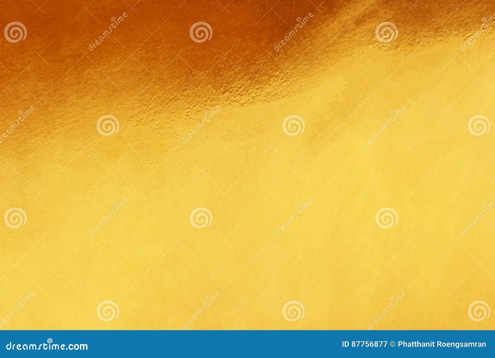 Gouden achtergrond of textuur en gradiëntenschaduw