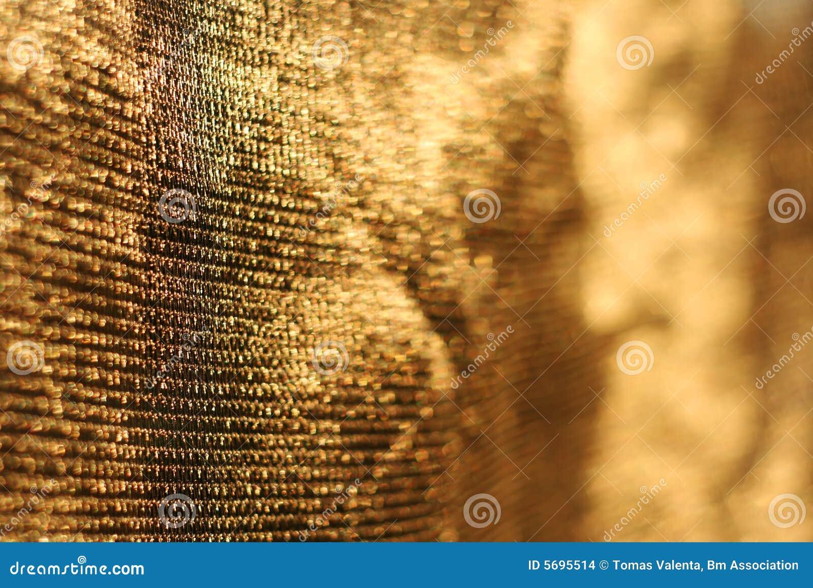 Gouden achtergrond van netto