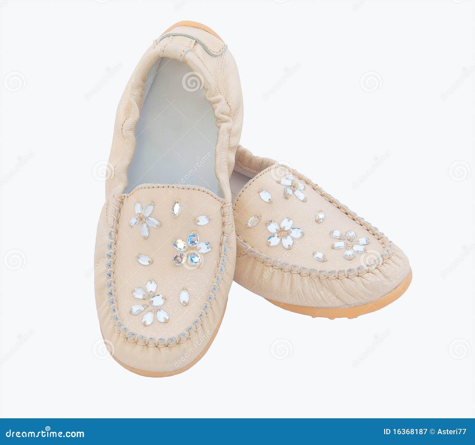 Gouden beige babyschoenen stock afbeelding afbeelding bestaande uit kleding 16368187 - Baby voet verkoop ...