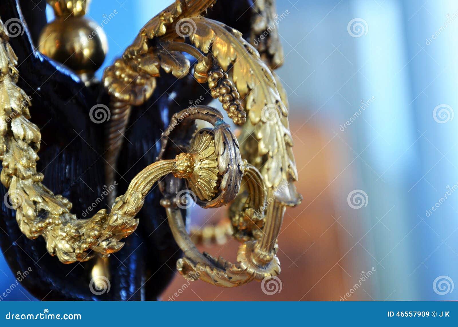 Gouden decoratie
