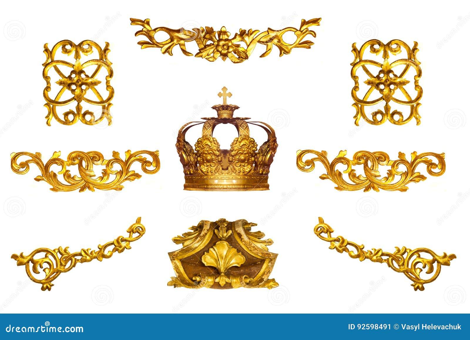 Gouden detail
