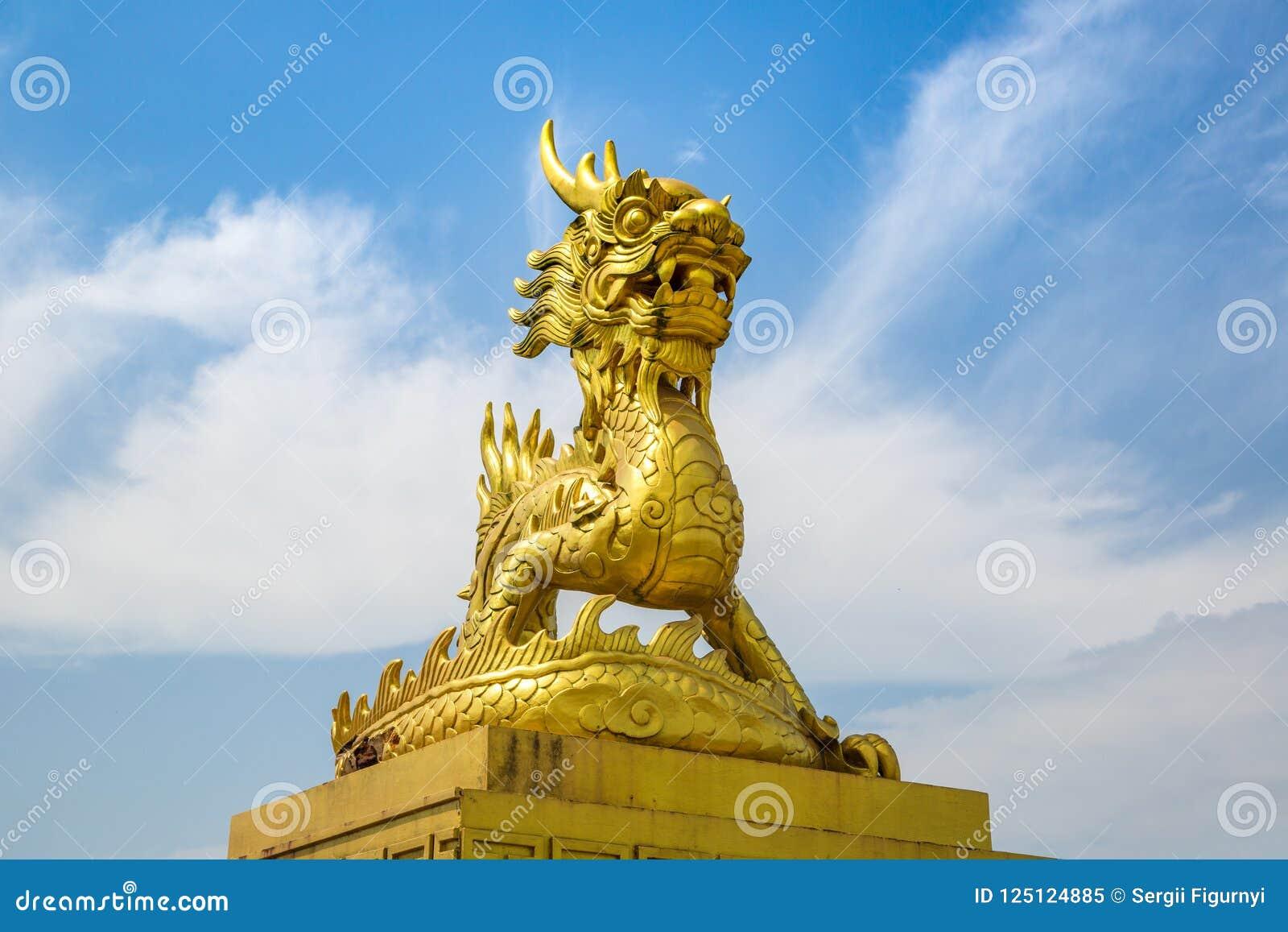 Gouden draak in Tint, Vietnam