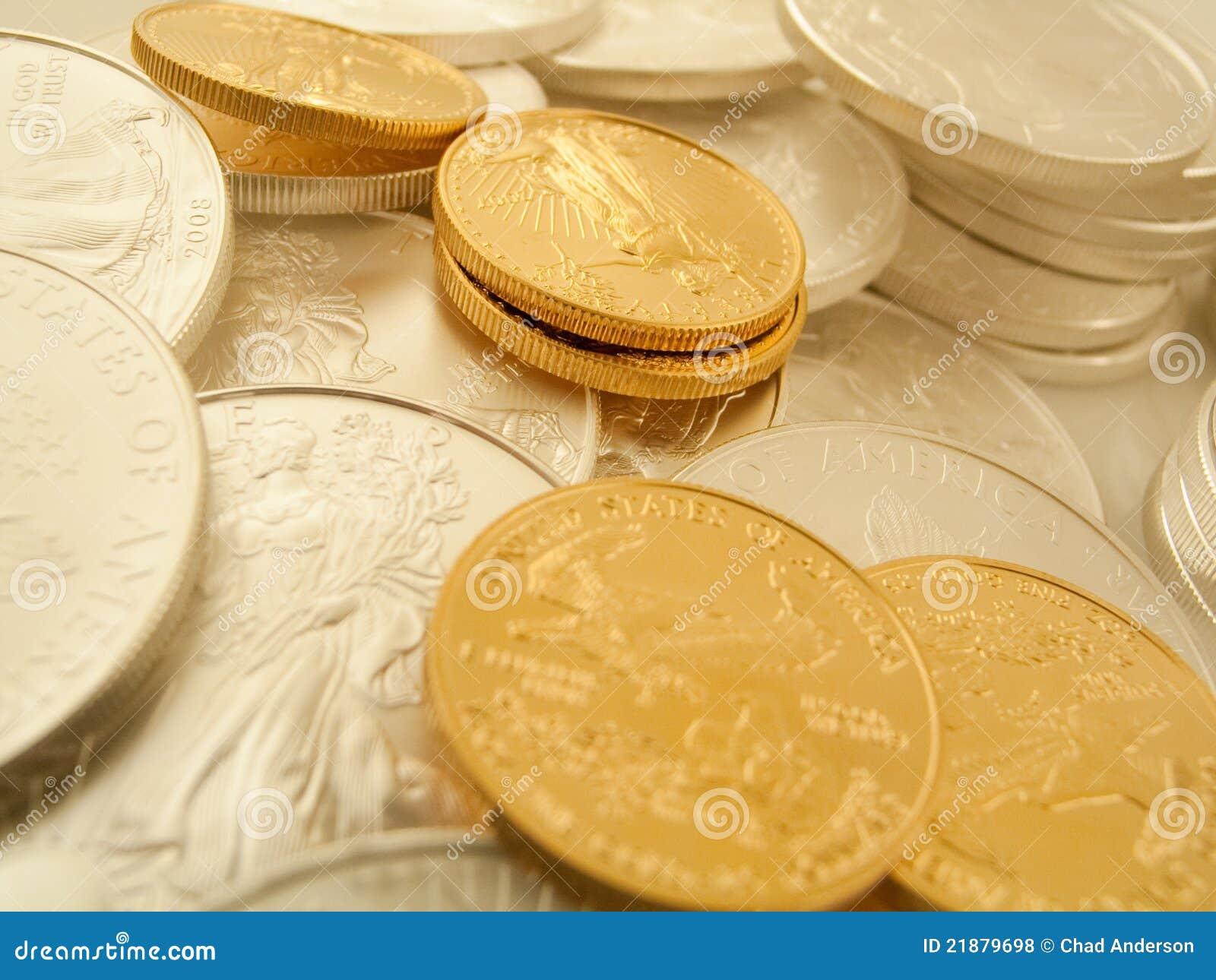 Gouden en Zilveren Muntstukken