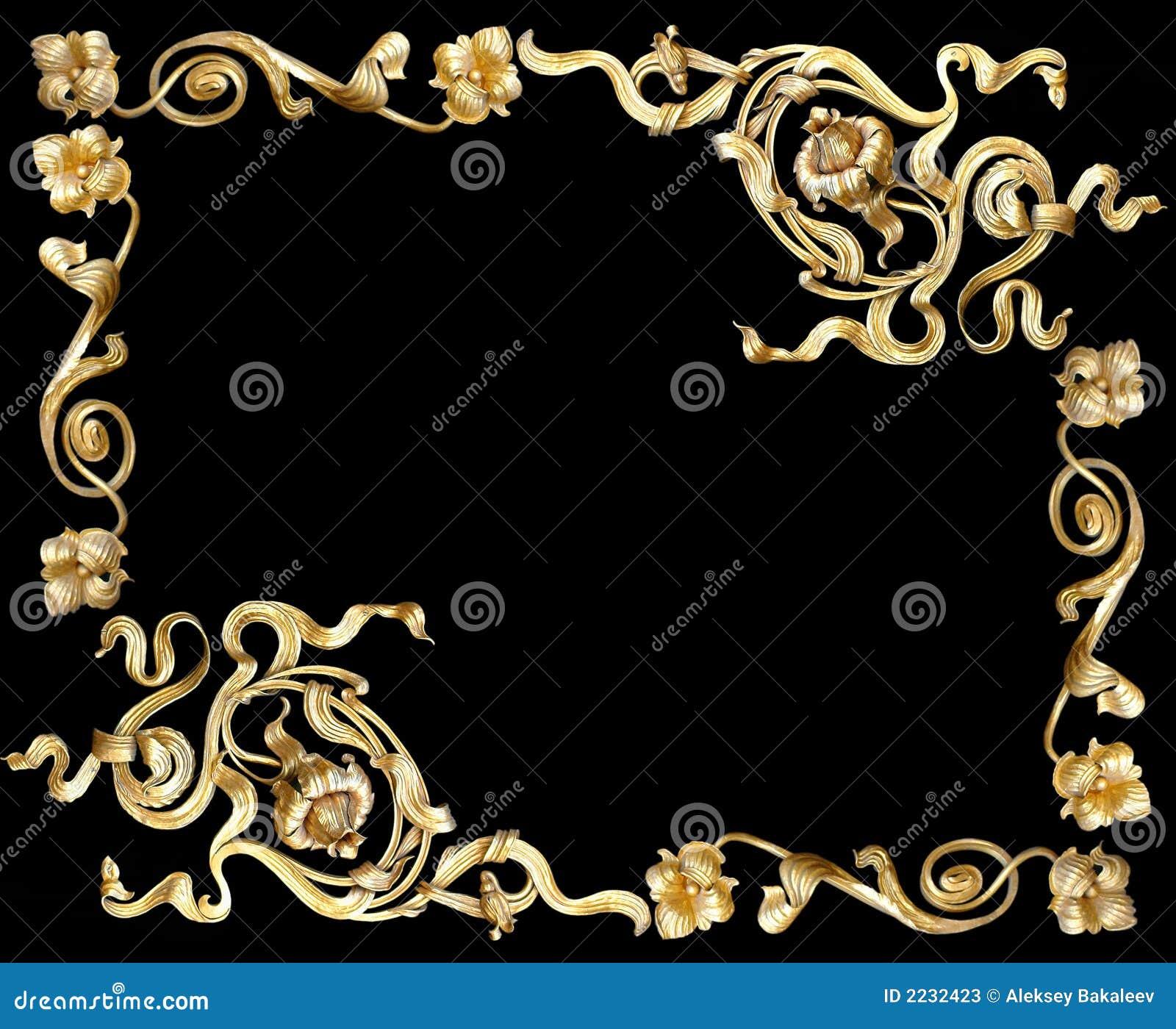 Gouden frame2