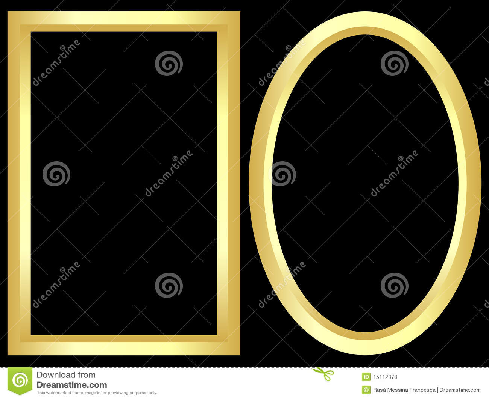 Gouden frames