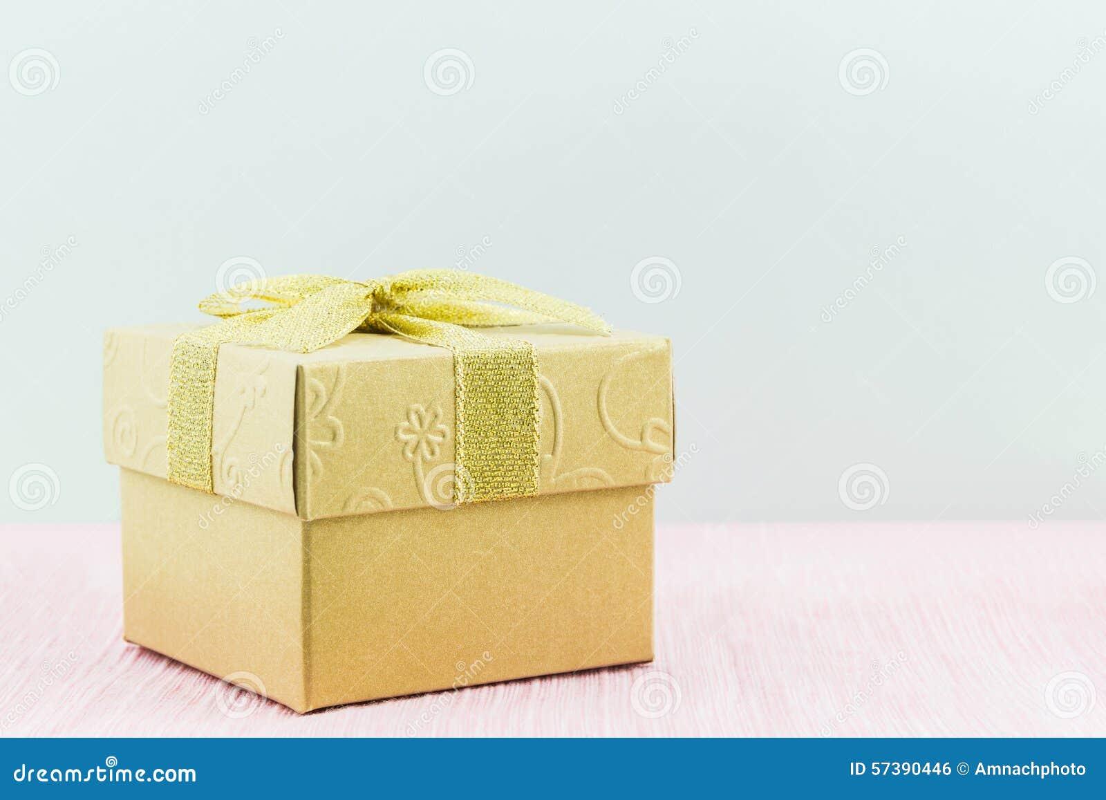 Gouden giftdoos
