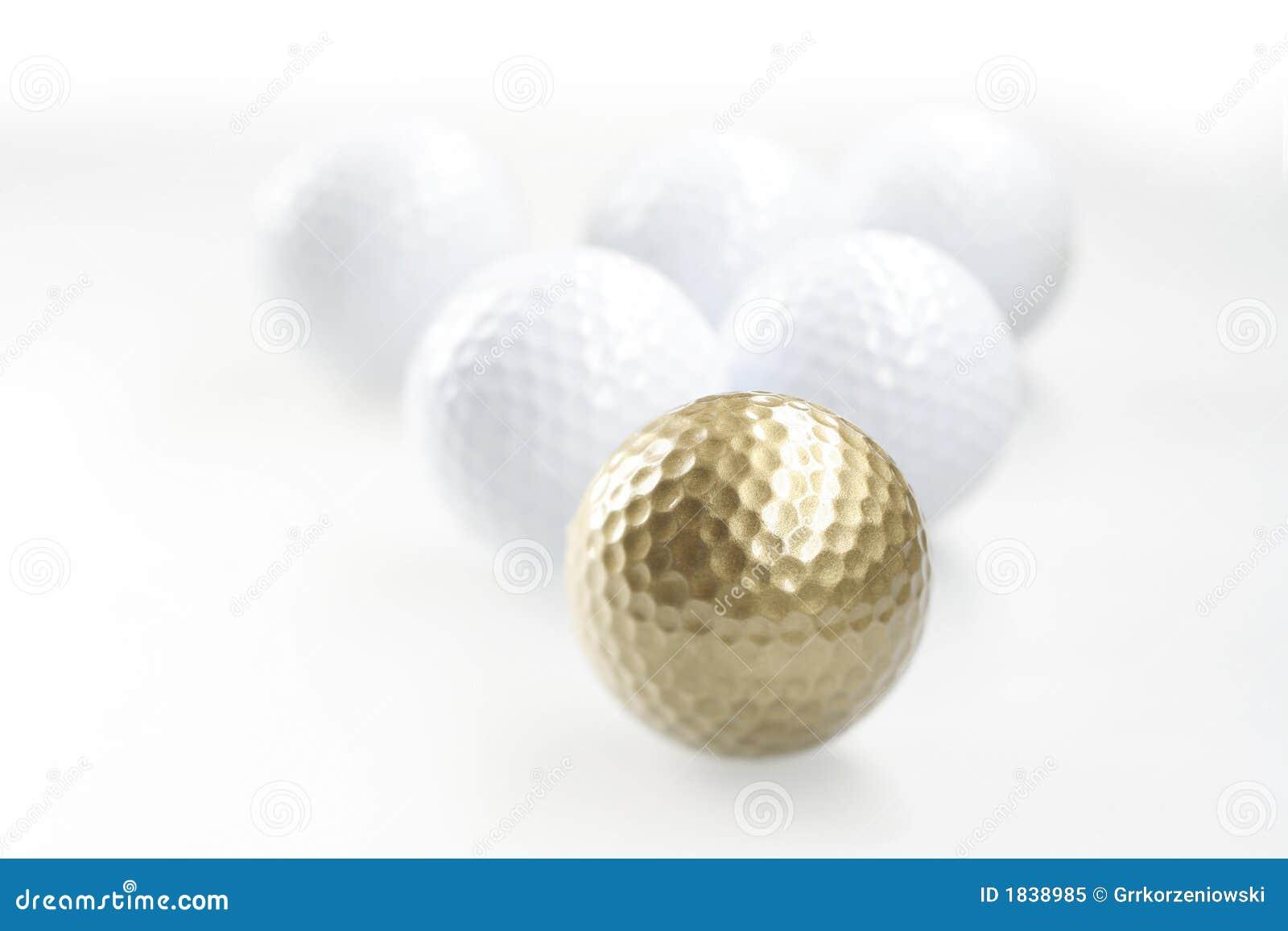 Gouden golfbal
