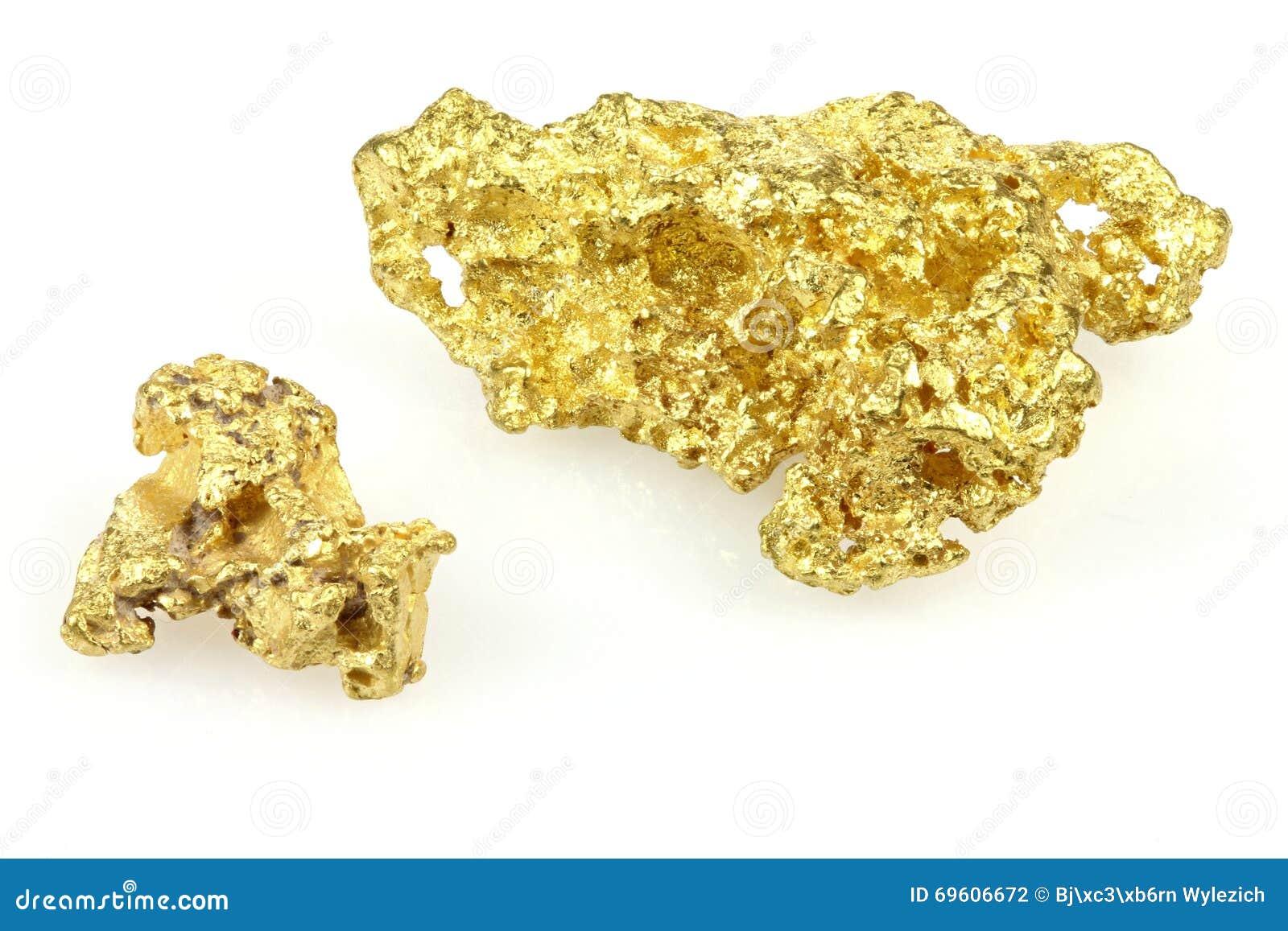 Gouden goudklompjes