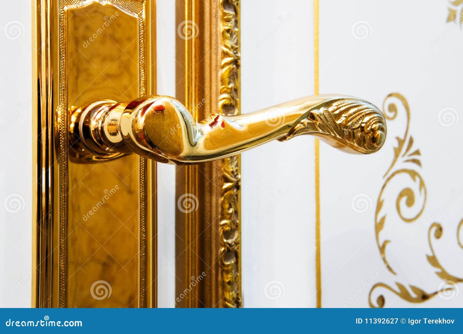 Gouden handvat