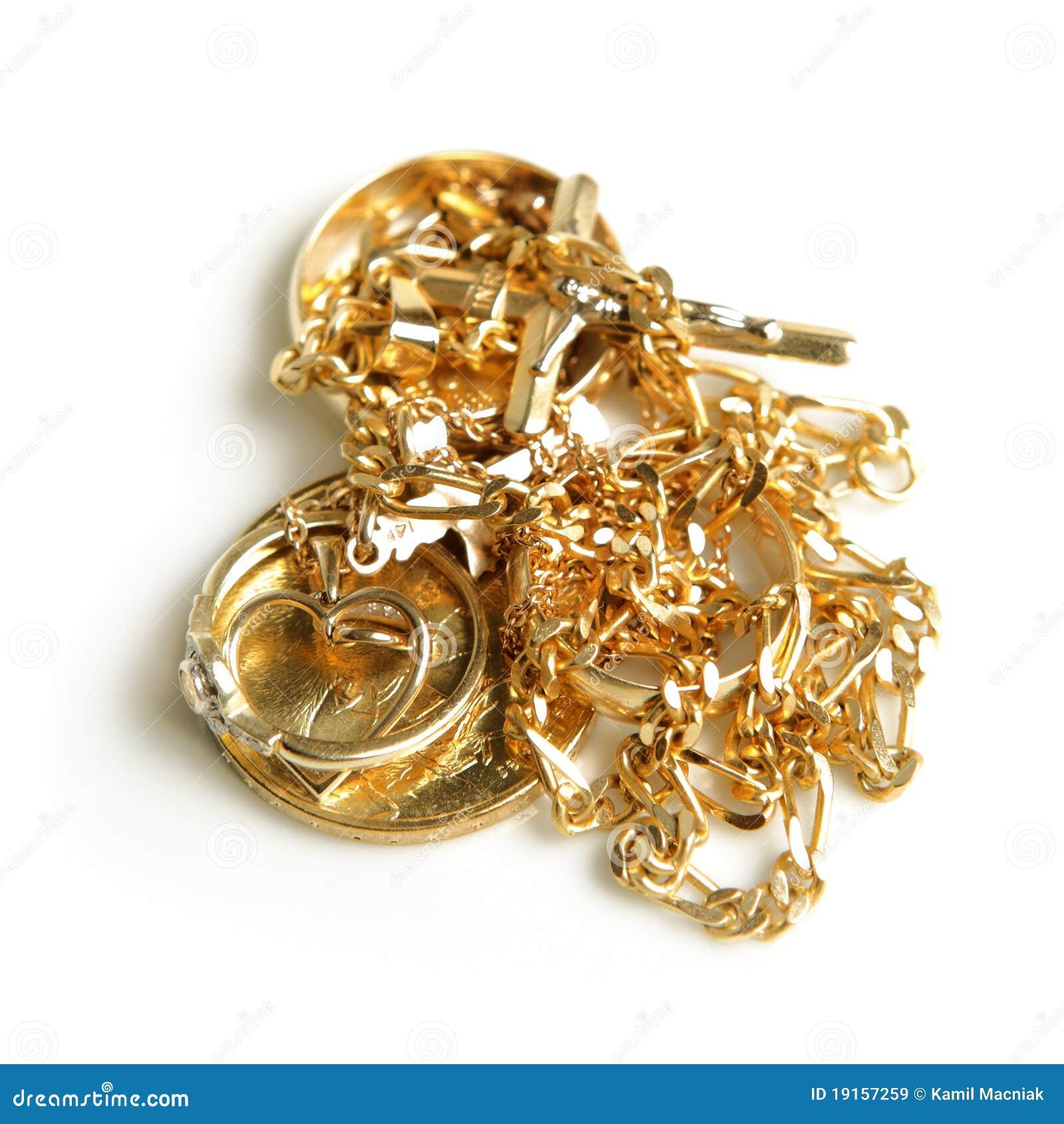 Gouden jewelery
