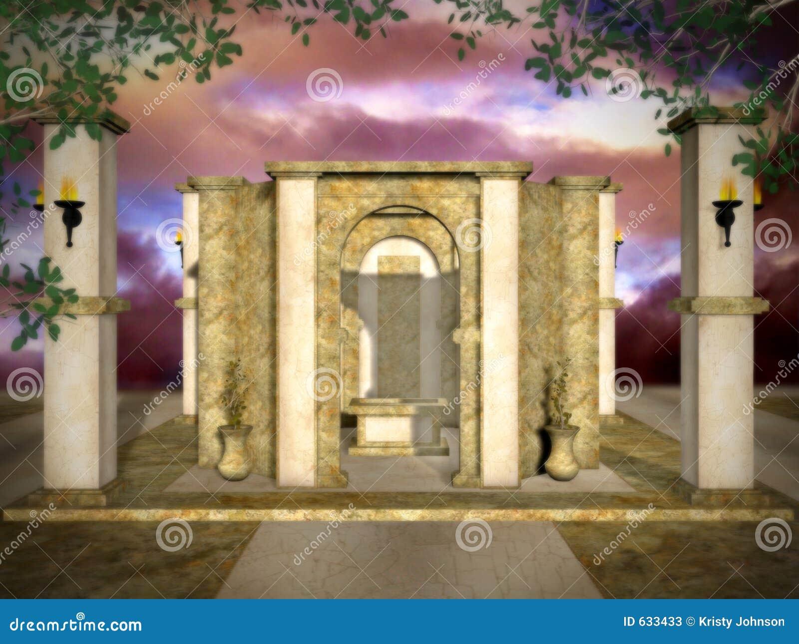 Gouden Mystieke Tempel