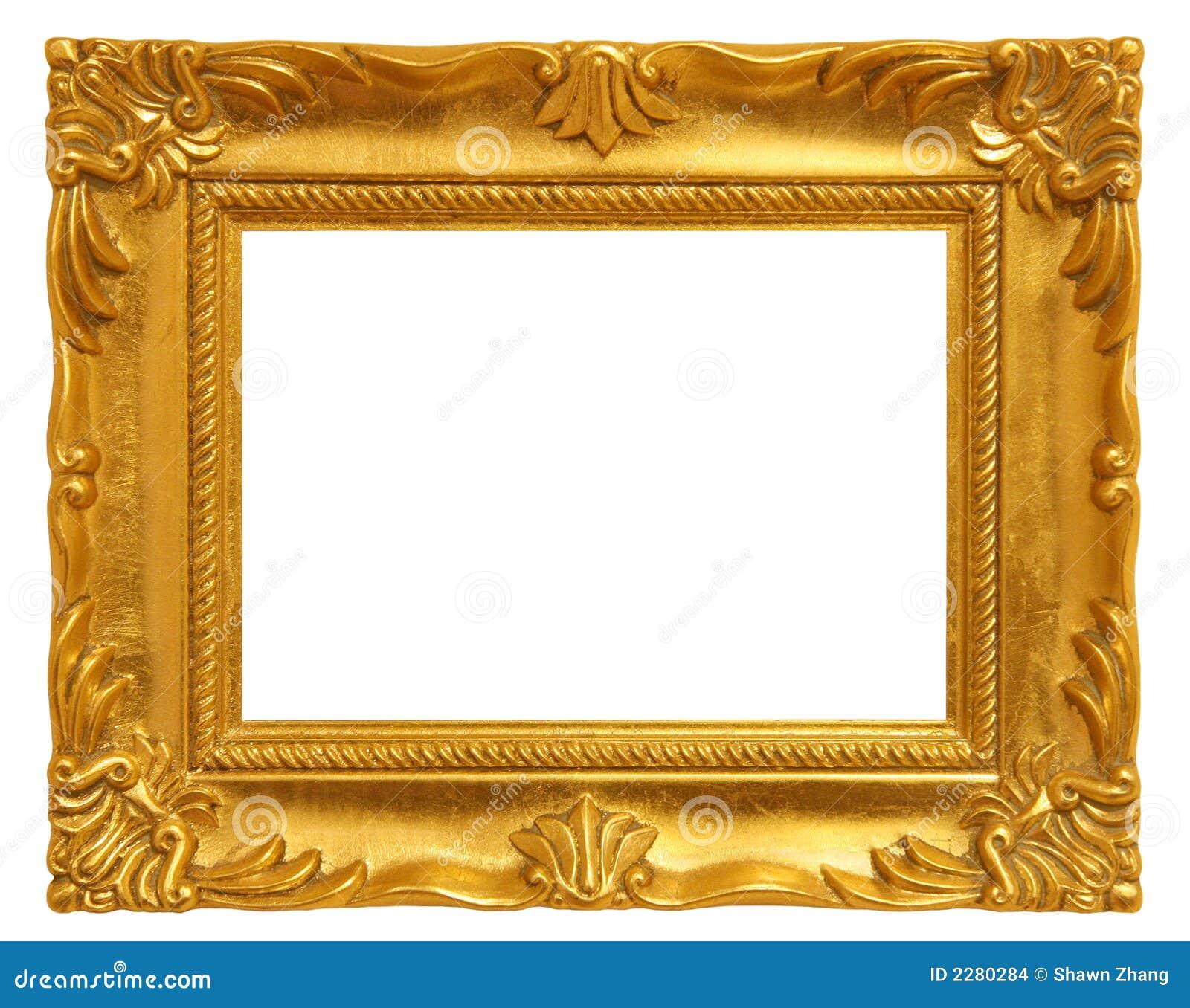 gouden omlijsting stock foto afbeelding bestaande uit beeld 2280284. Black Bedroom Furniture Sets. Home Design Ideas