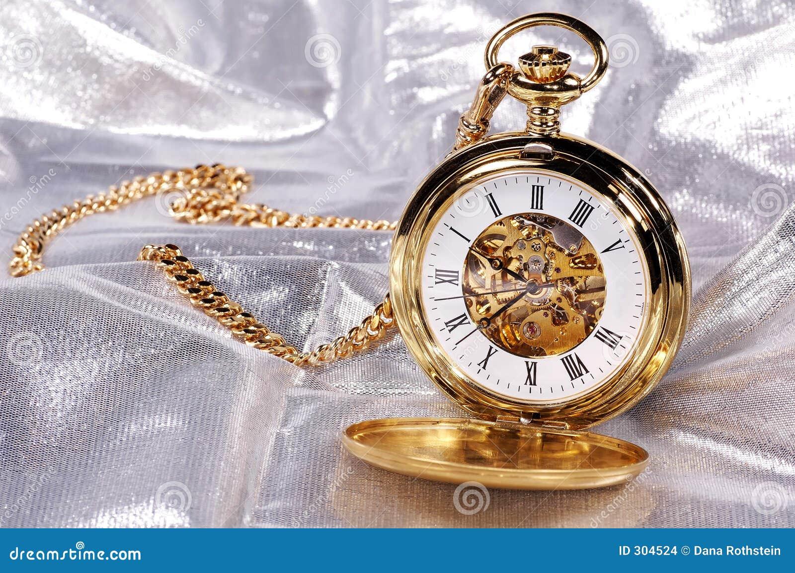 Gouden Pocketwatch
