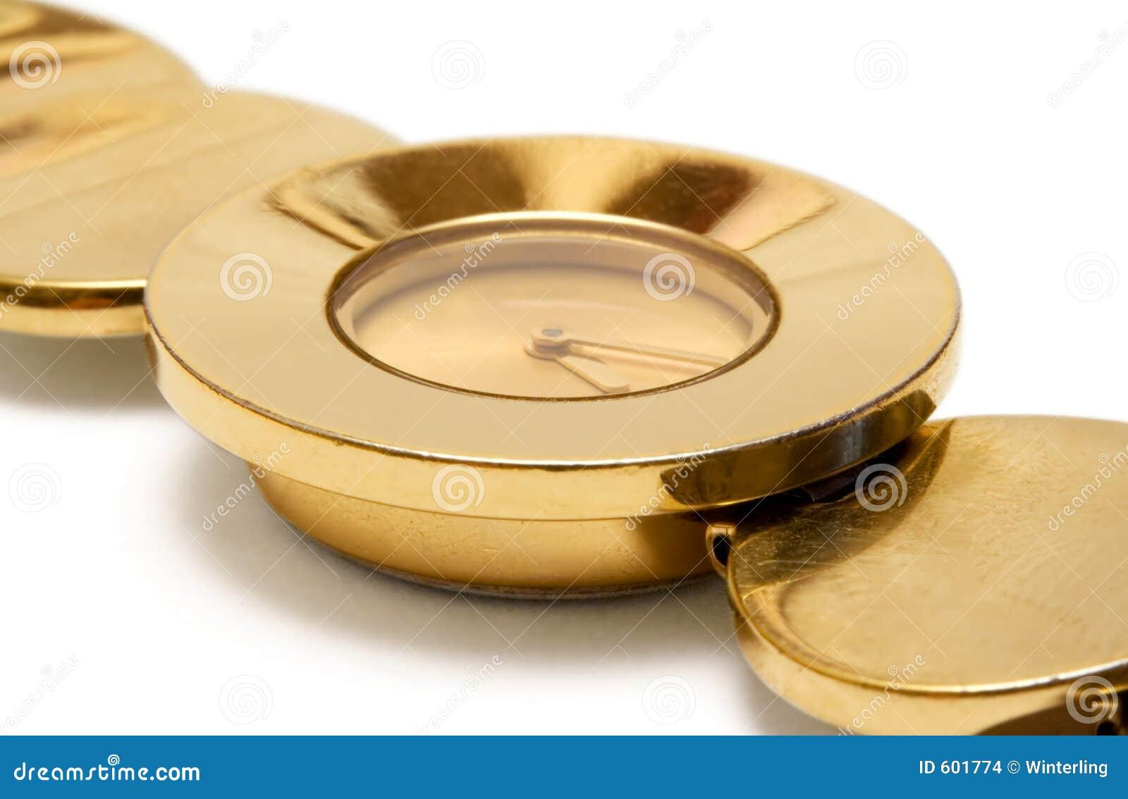Gouden Polshorloge (Dichte Mening)