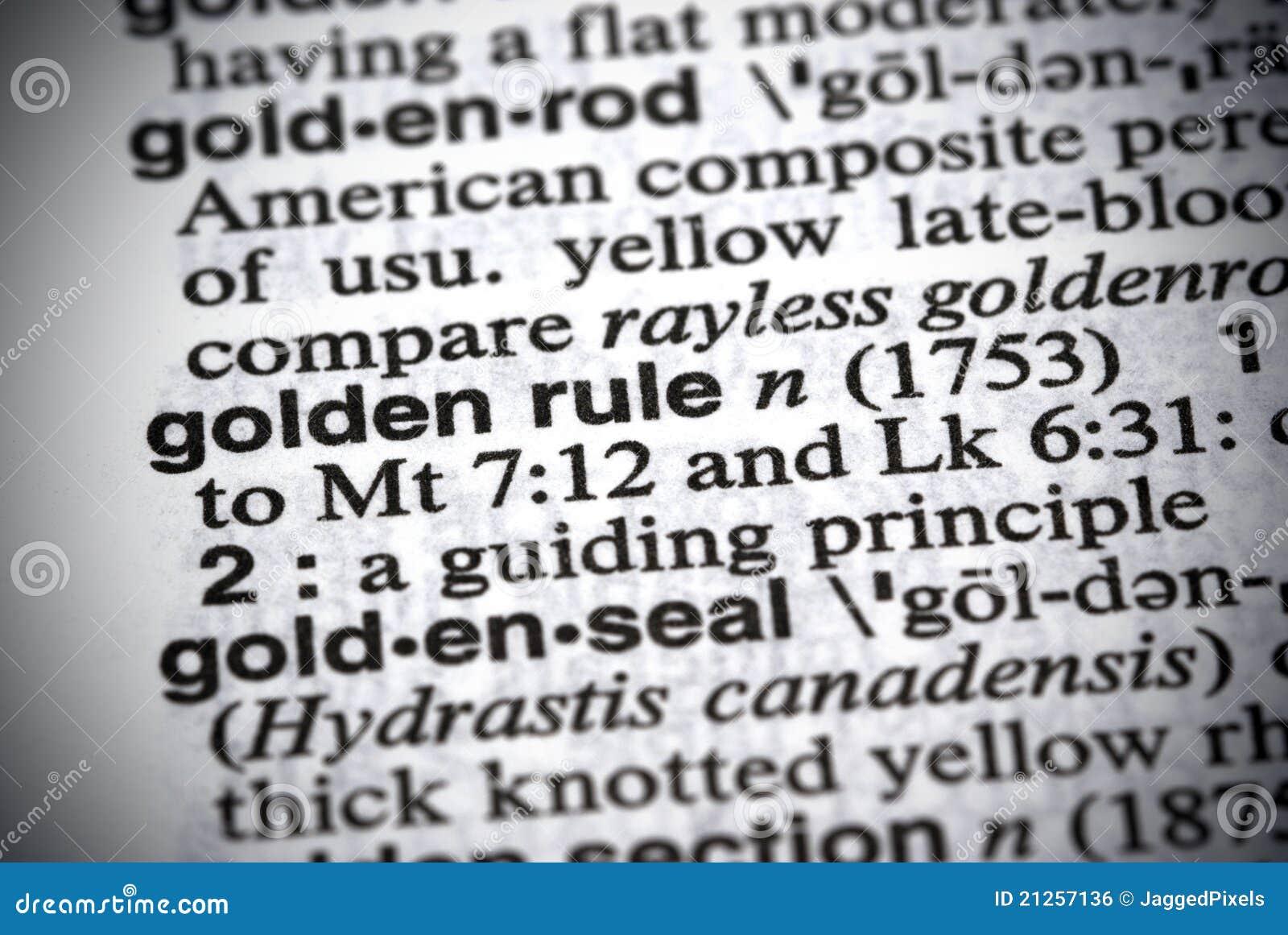Gouden Regel