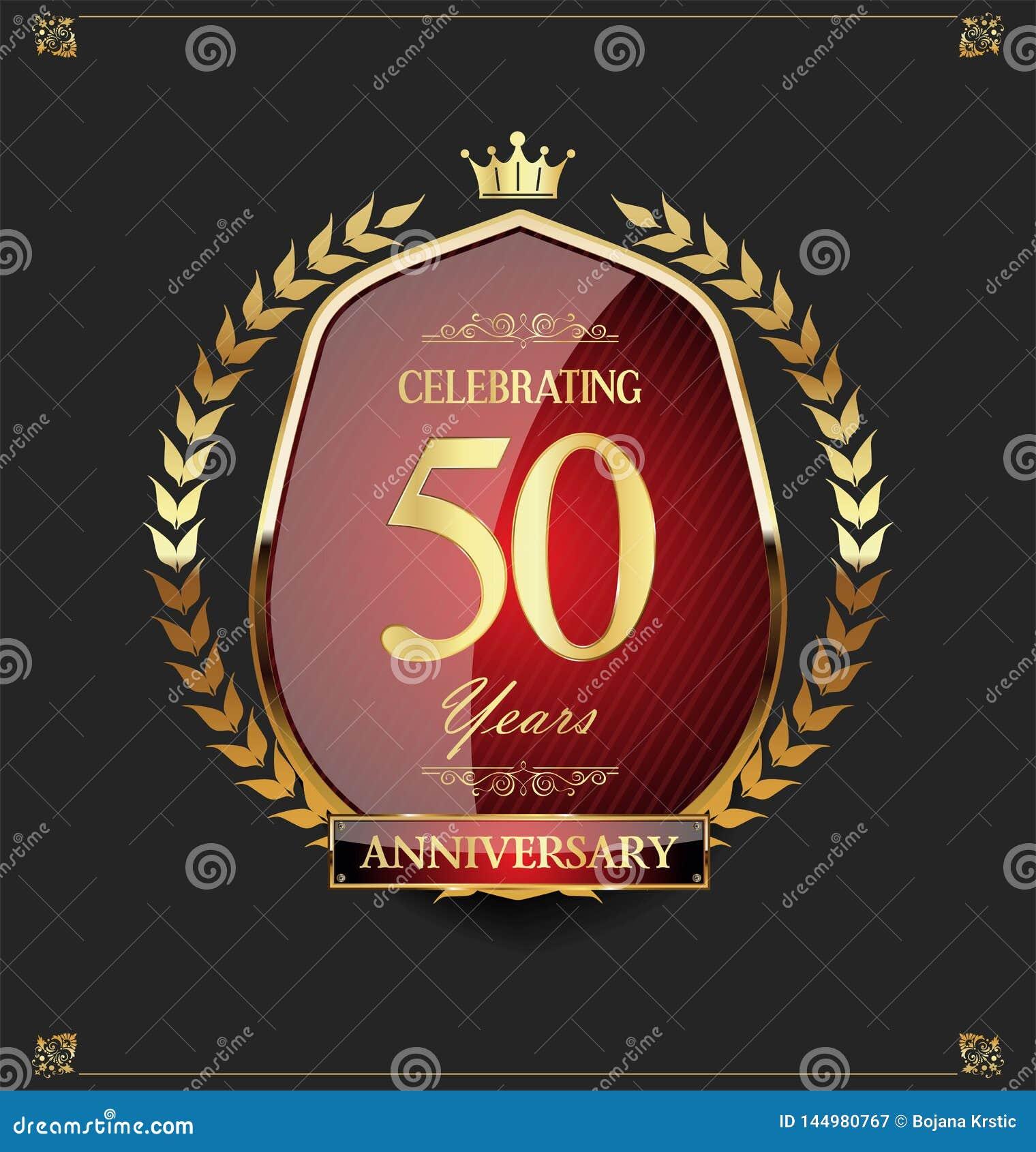 Gouden schild en lauwerkransverjaardag 50 jaar