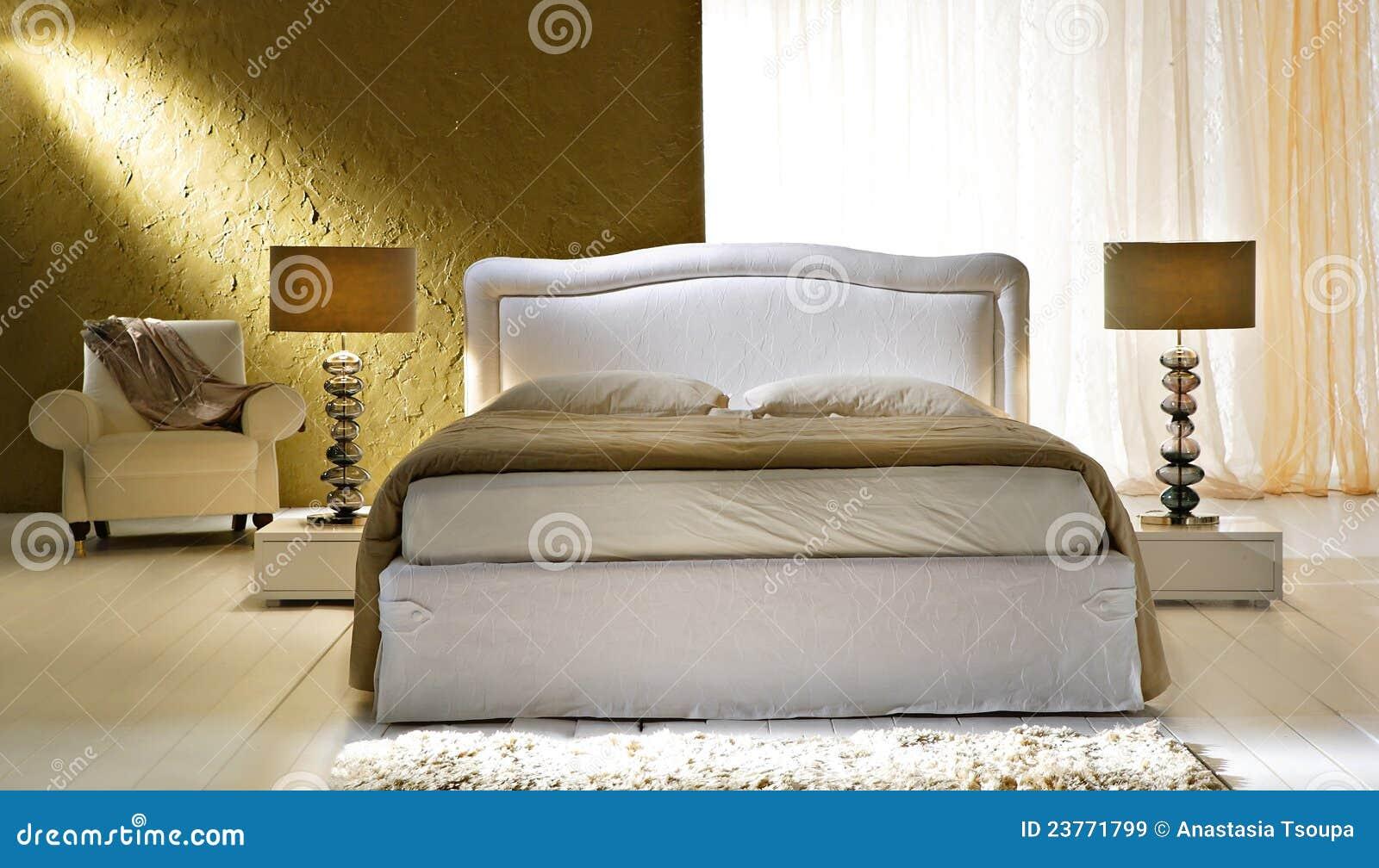 gouden slaapkamer
