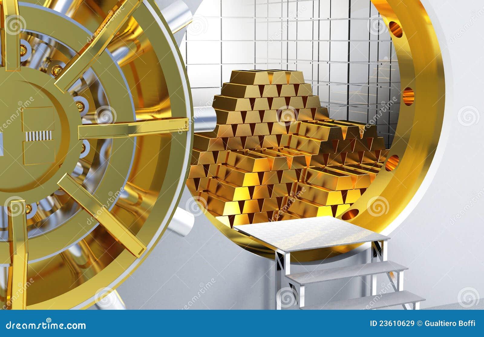 Gouden staven