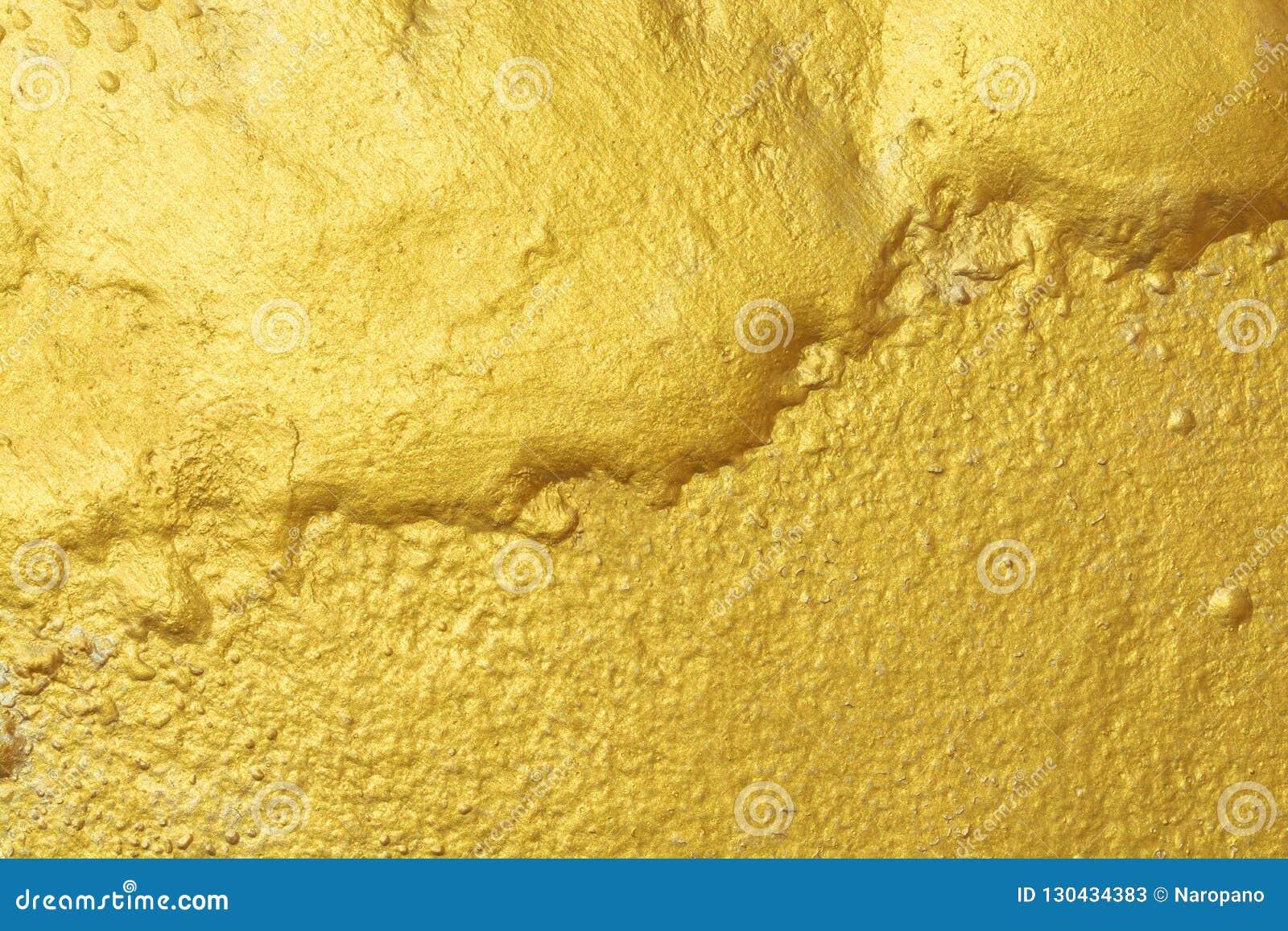 Gouden textuur abstracte spatie als achtergrond voor ontwerp