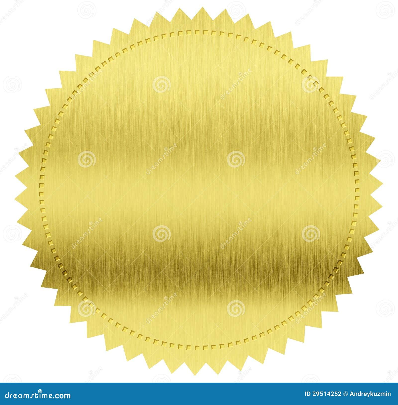 Gouden verbinding of medaille