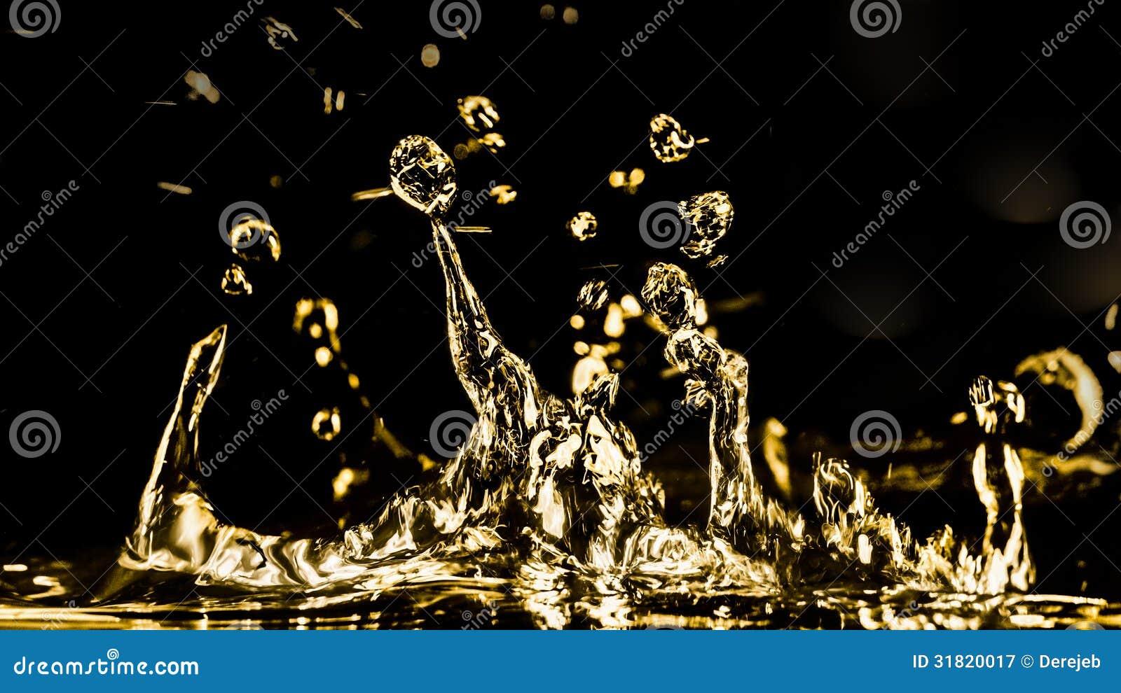 Gouden Watercijfers