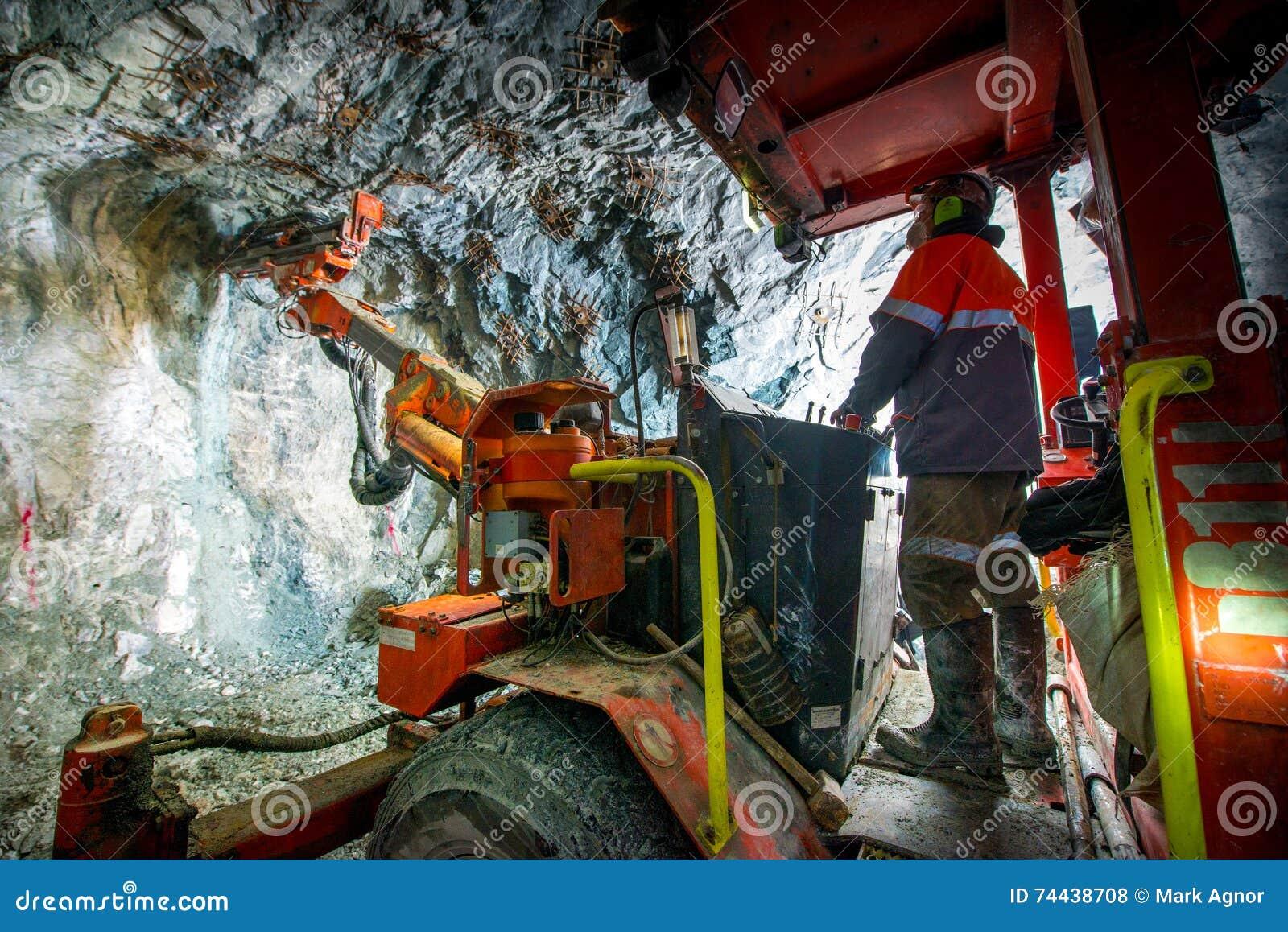 Goudwinning ondergronds
