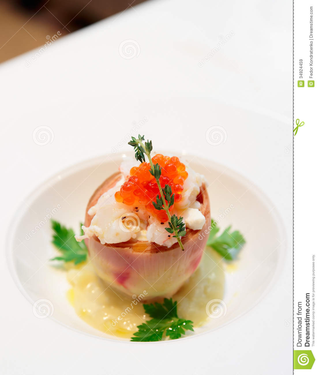 ... , Seafood, And Salmon Roe Royalty Free Stock Images - Image: 34924459