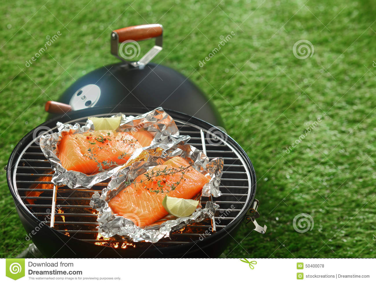 How To Cook Grilled Salmon In Foil Solution For How To For Dummies