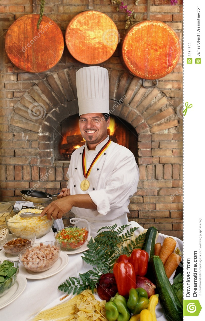 Gourmet Chef Stock Photography Image 2234322