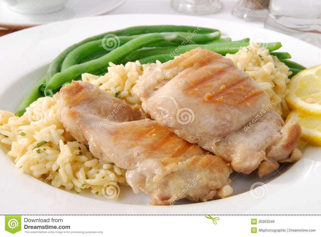 Fancy chicken meal - photo#24