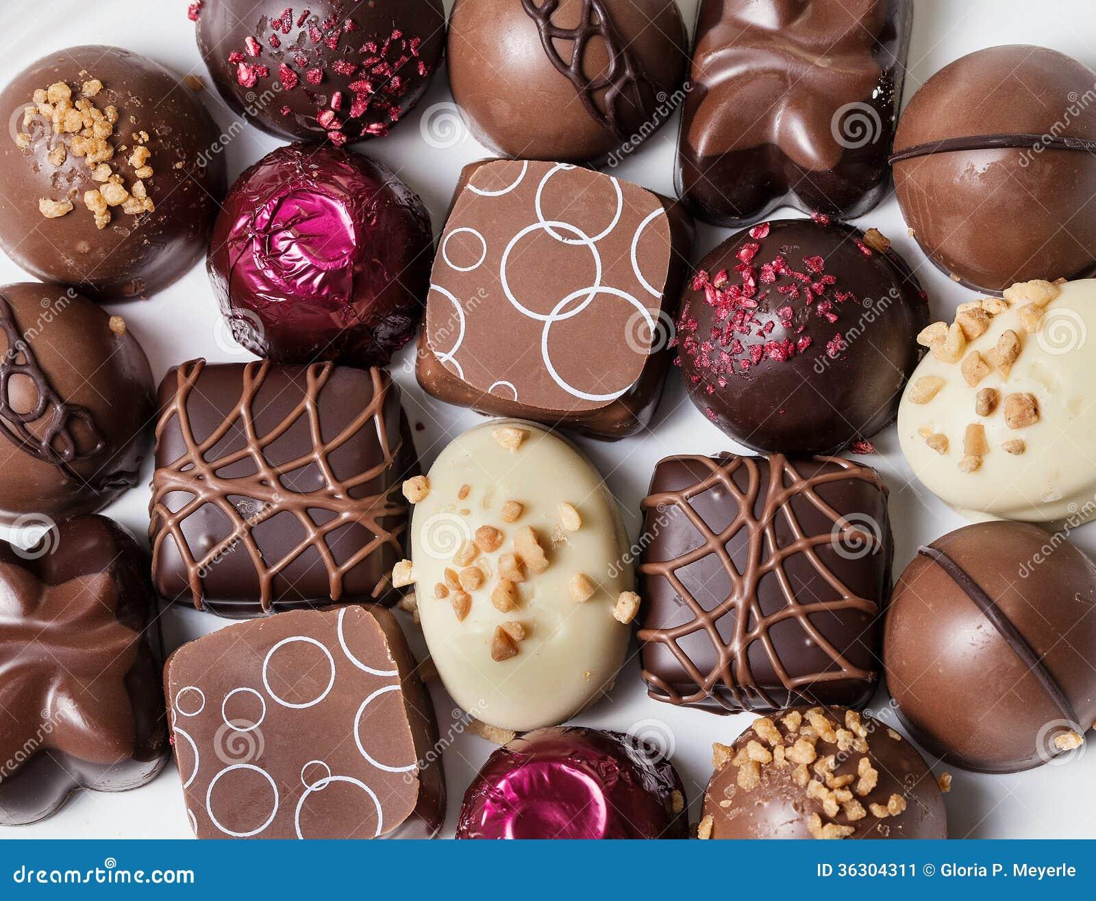 Gourmet Chocolates Stock Photos - Image: 36029923