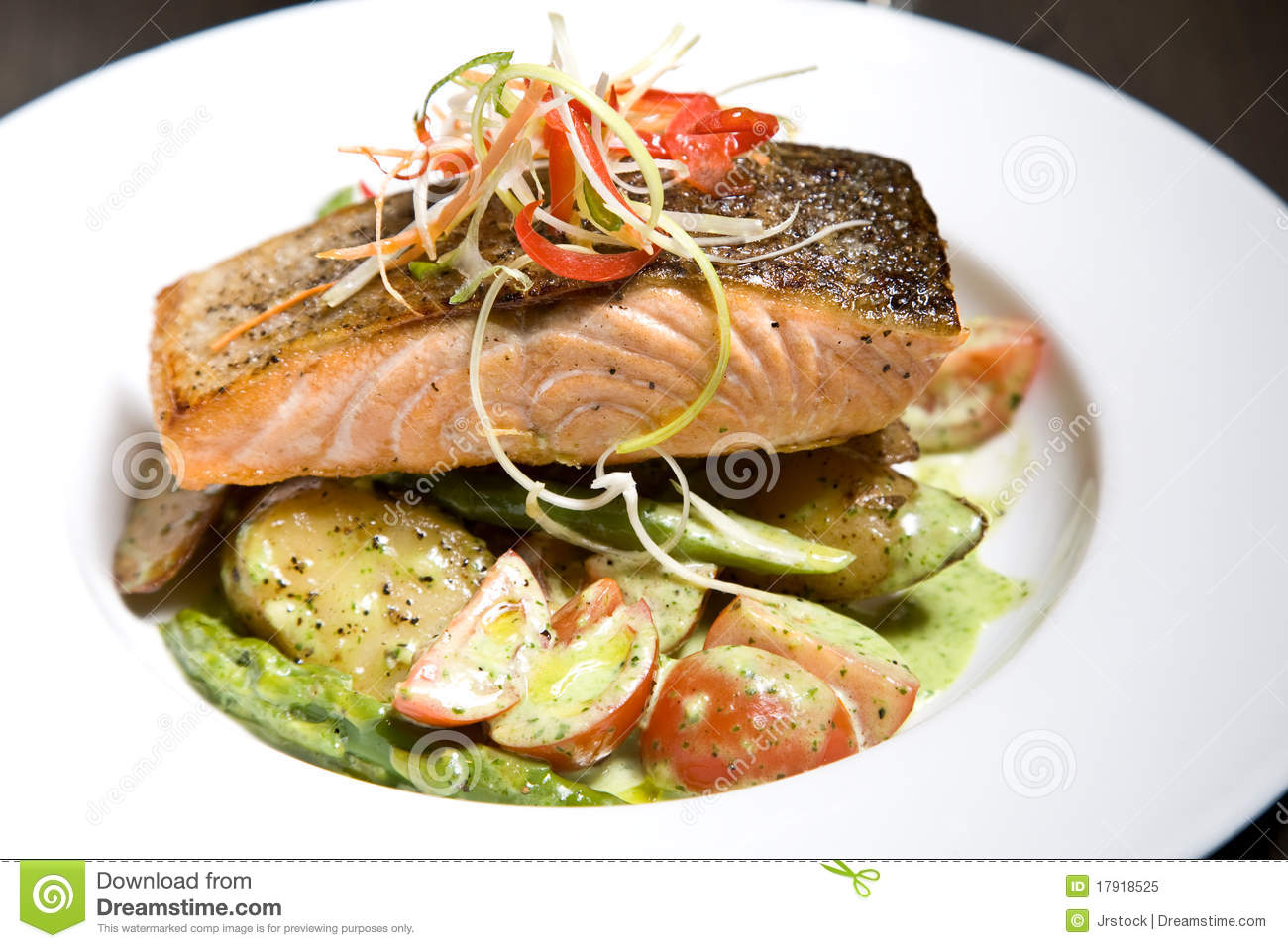 Gourmet Dinner Royalty Free Stock Photo - Image: 17918525