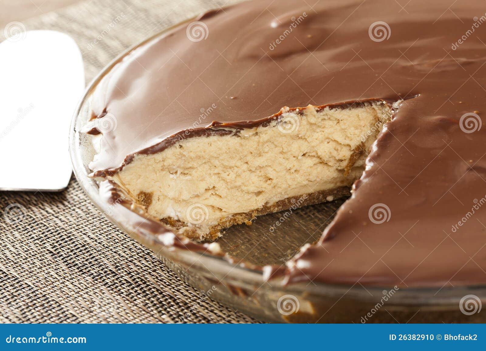 Download Gourmet Peanut Butter Pie stock photo. Image of crust - 26382910