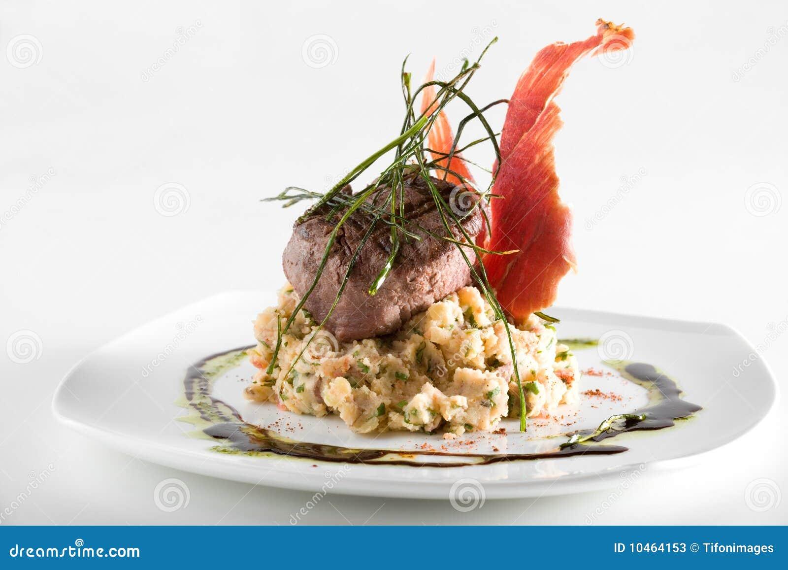 Gourmet piece of meat