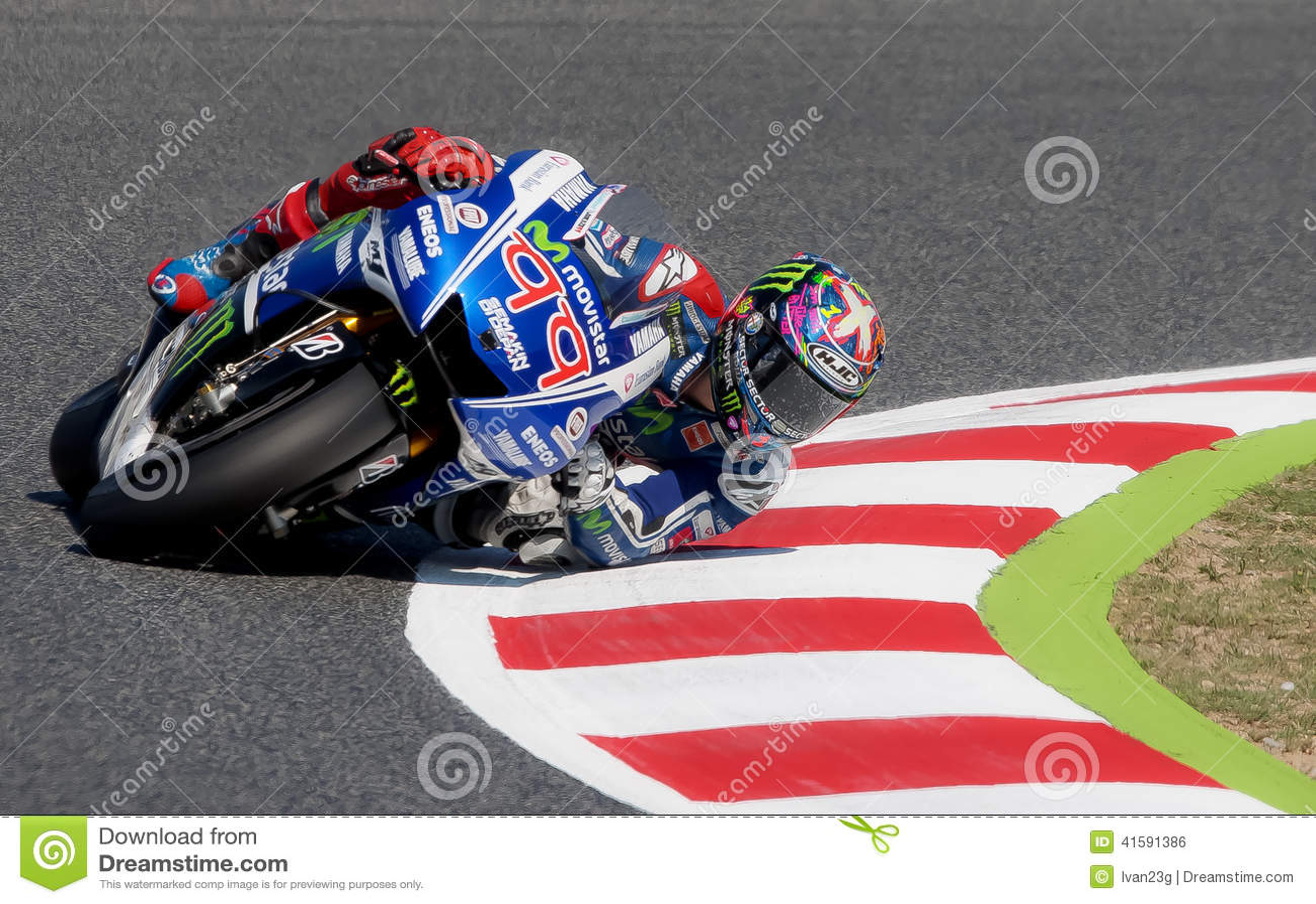 GP CATALUNYA MOTO GP - JORGE LORENZO Editorial Photo - Image: 41591386