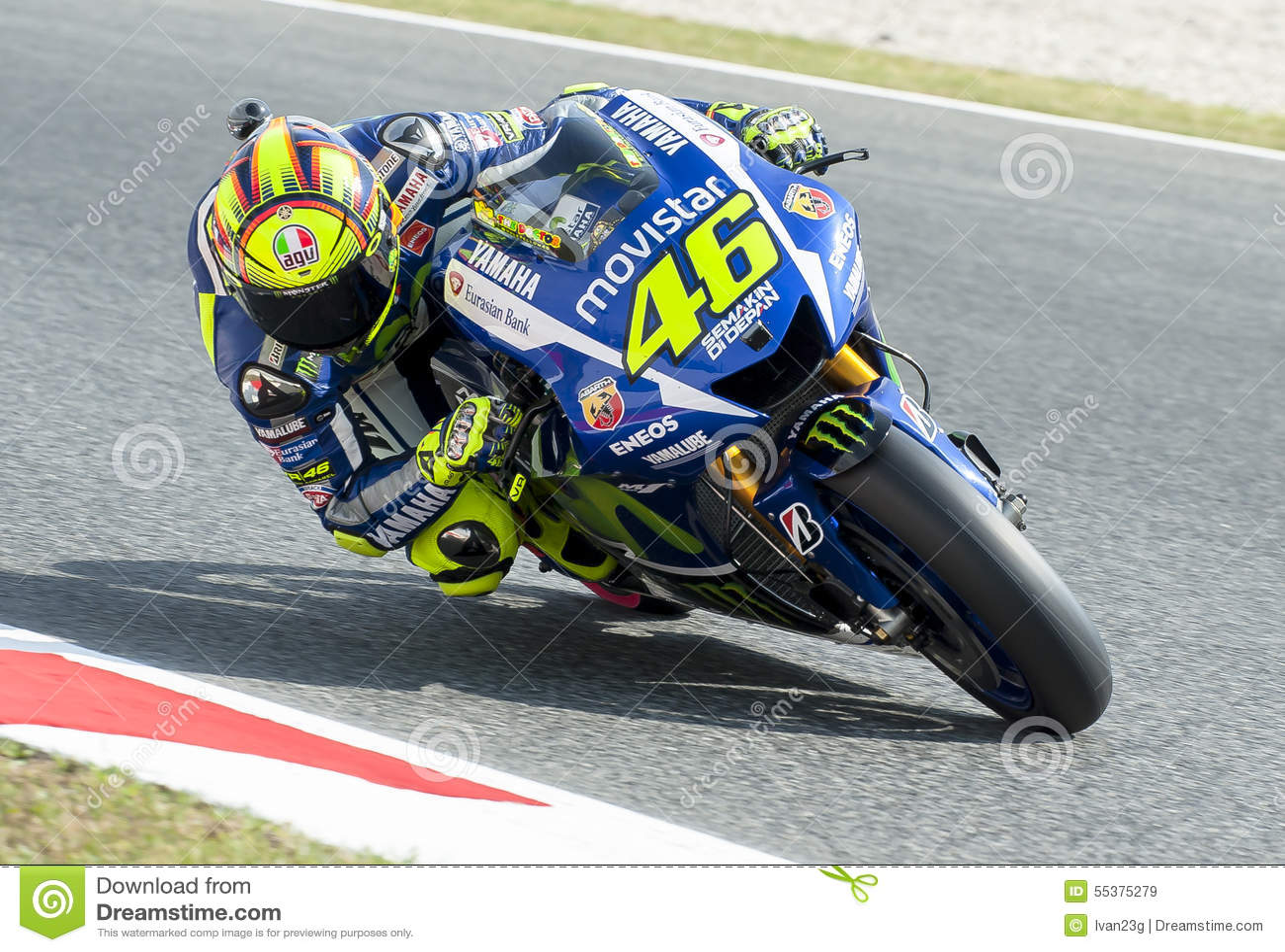 GP CATALUNYA MOTO GP 2015 - VALENTINO ROSSI