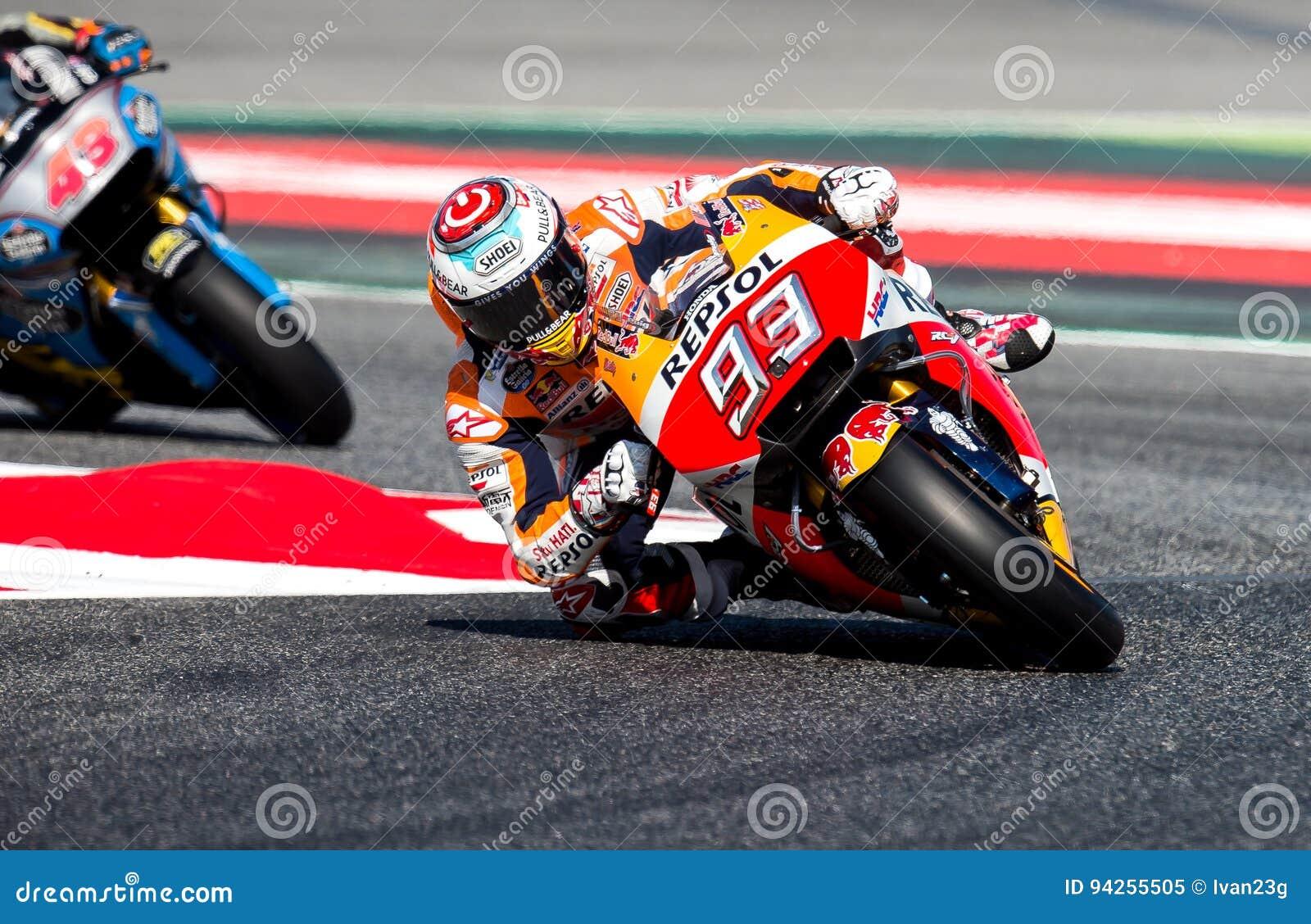 Gp Catalunya Motogp Mark Marquez Komanda Repsol Honda Redakcionnoe
