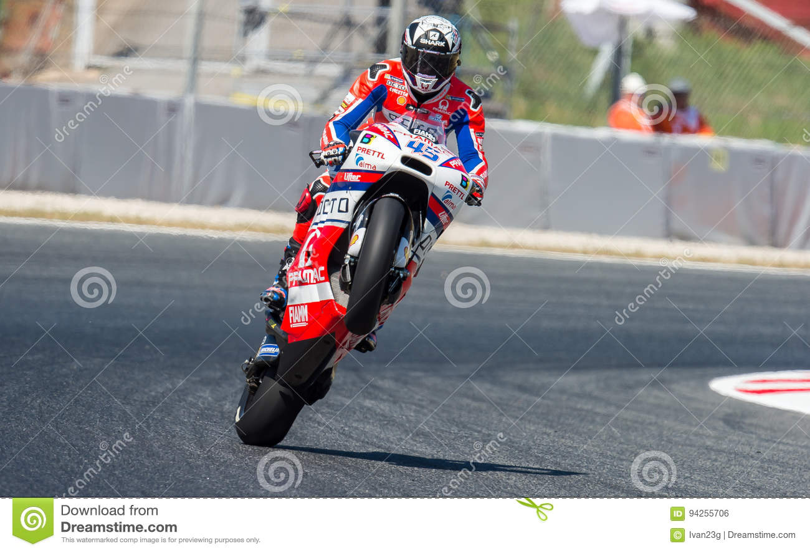 Gp Catalunya Motogp Skott Redding Gonki Komandy Octo Pramac