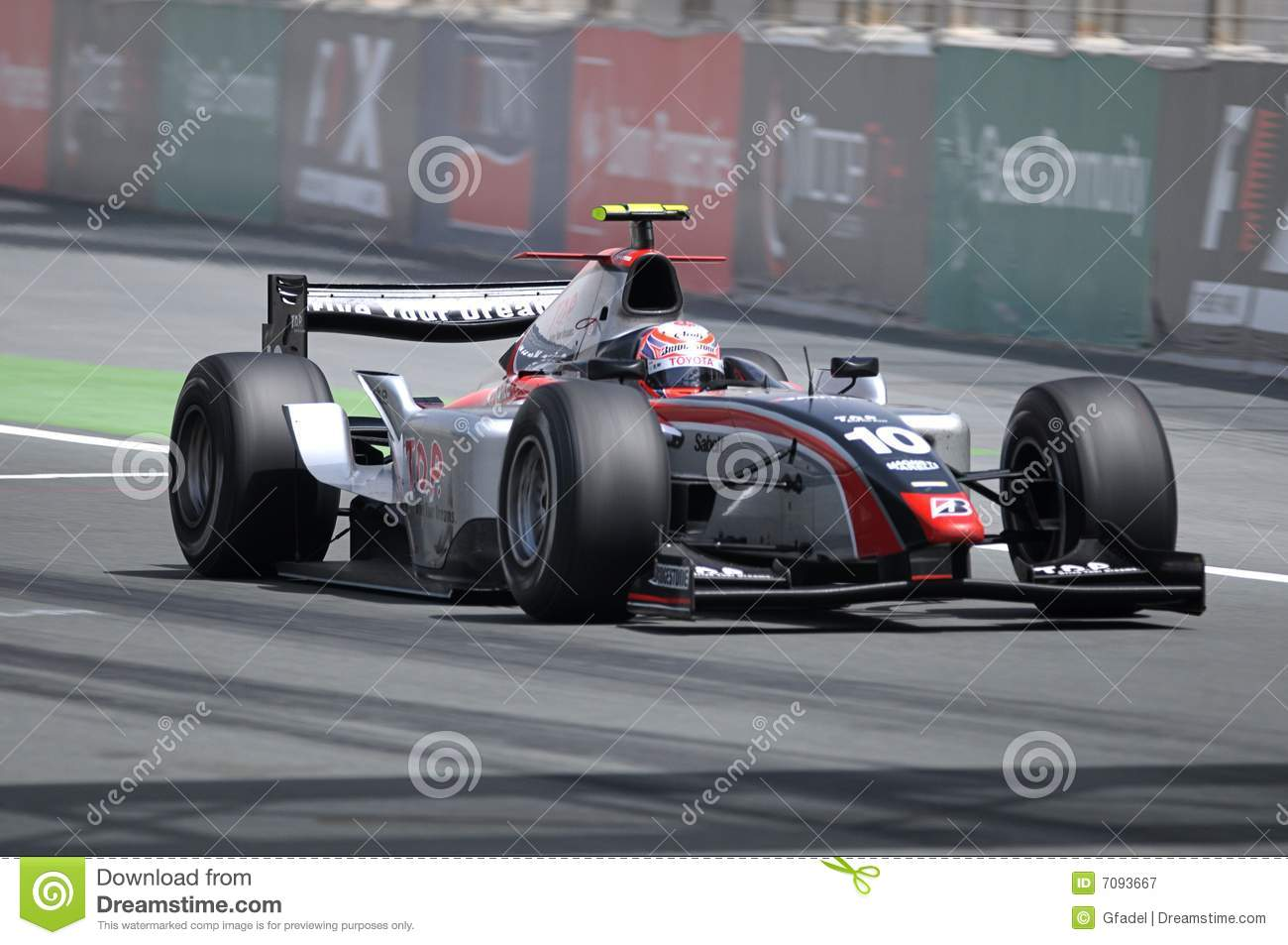 GP2 Asie 2008 5 ronds - Dubaï