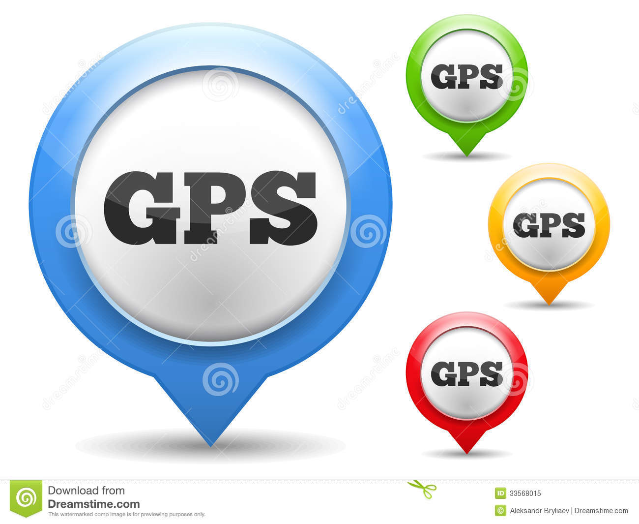 Map Pin In A Map Free Vector Instantshift Beautiful Free: GPS Icon Royalty Free Stock Photo